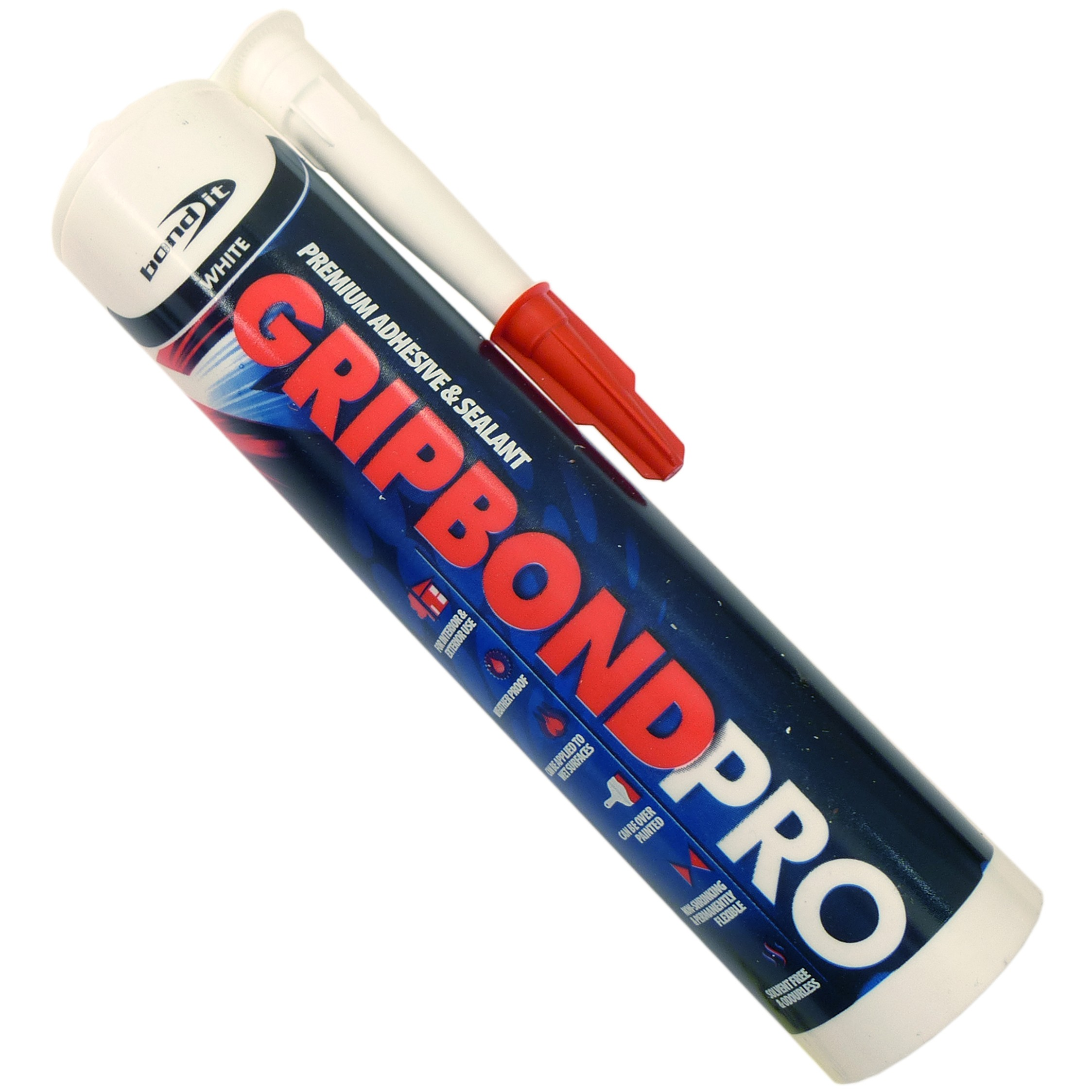 Bond It G B Pro Hybrid Polymer Silicone - White, 290ml