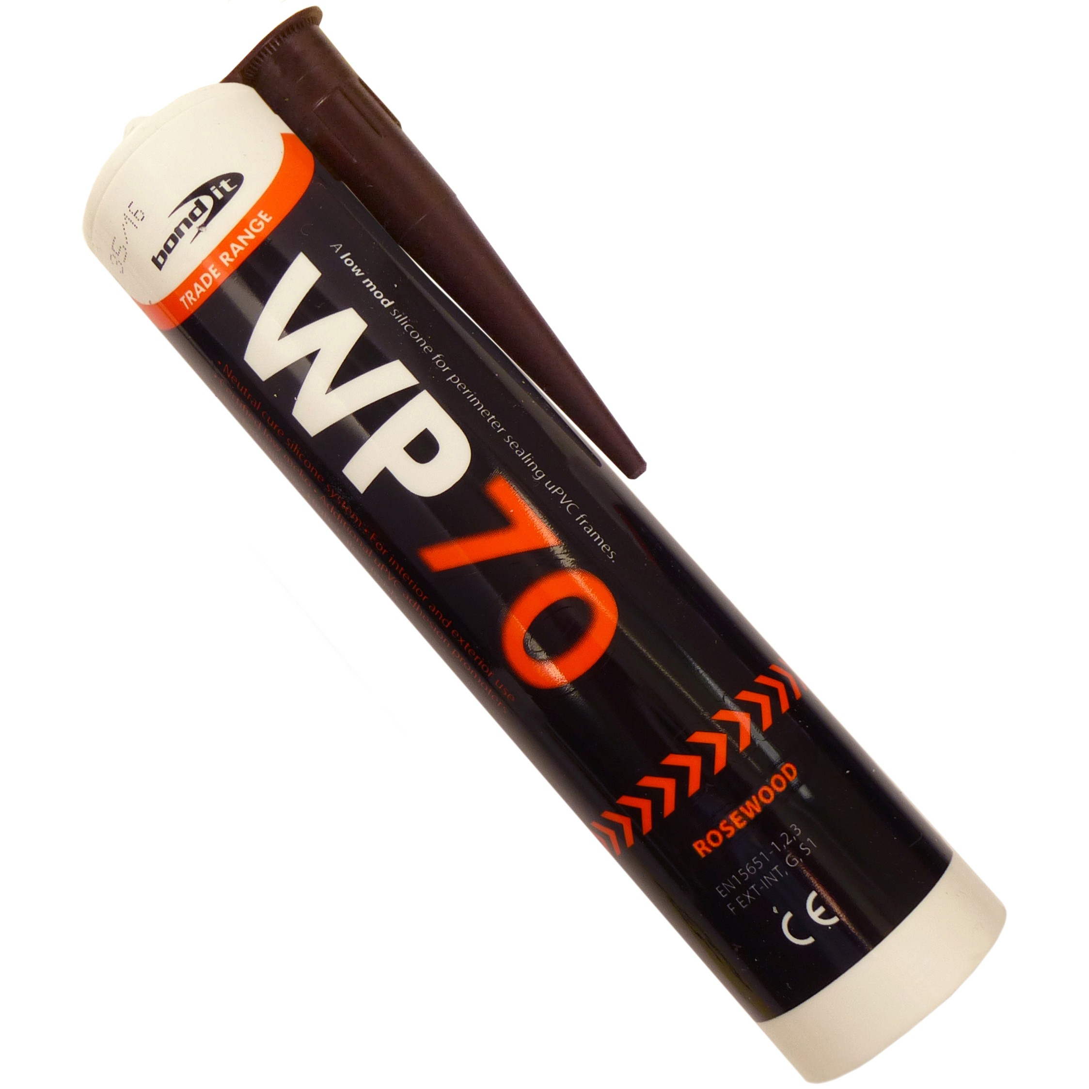 Bond It WP70 Oxime Low Modulus Silicone - Rosewood, 310ml