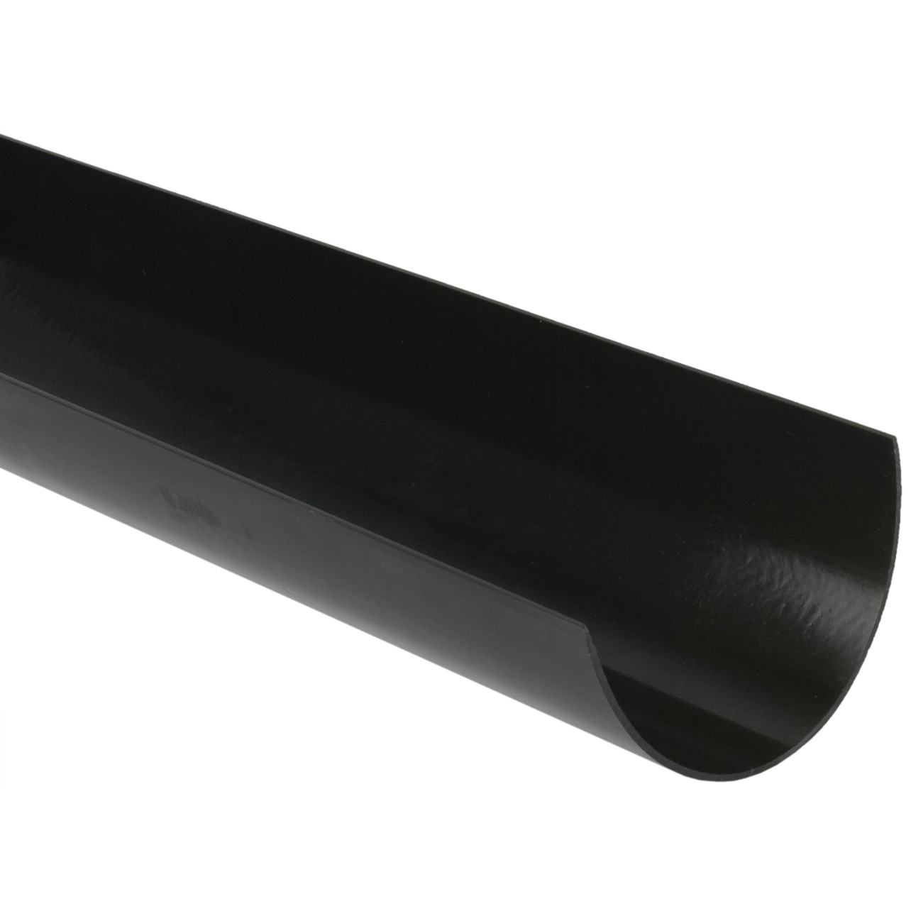 Brett Martin 170mm Large Deep Flow Gutter - Black, 4 Metre