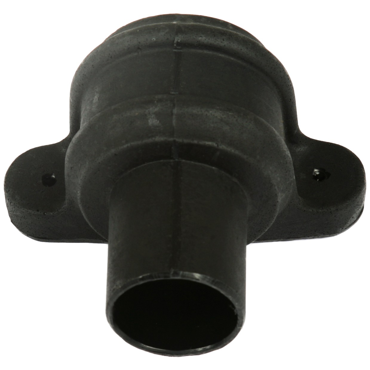 Cascade 68mm Round Cast Iron Style Down Pipe Coupler (With Lugs) - Black