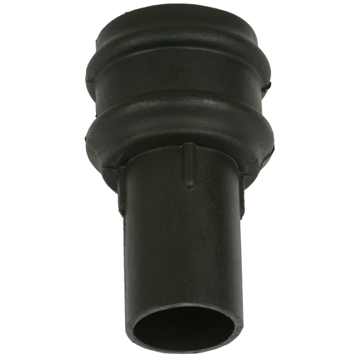 Cascade 68mm Round Cast Iron Style Down Pipe Coupler (Without Lugs) - Black