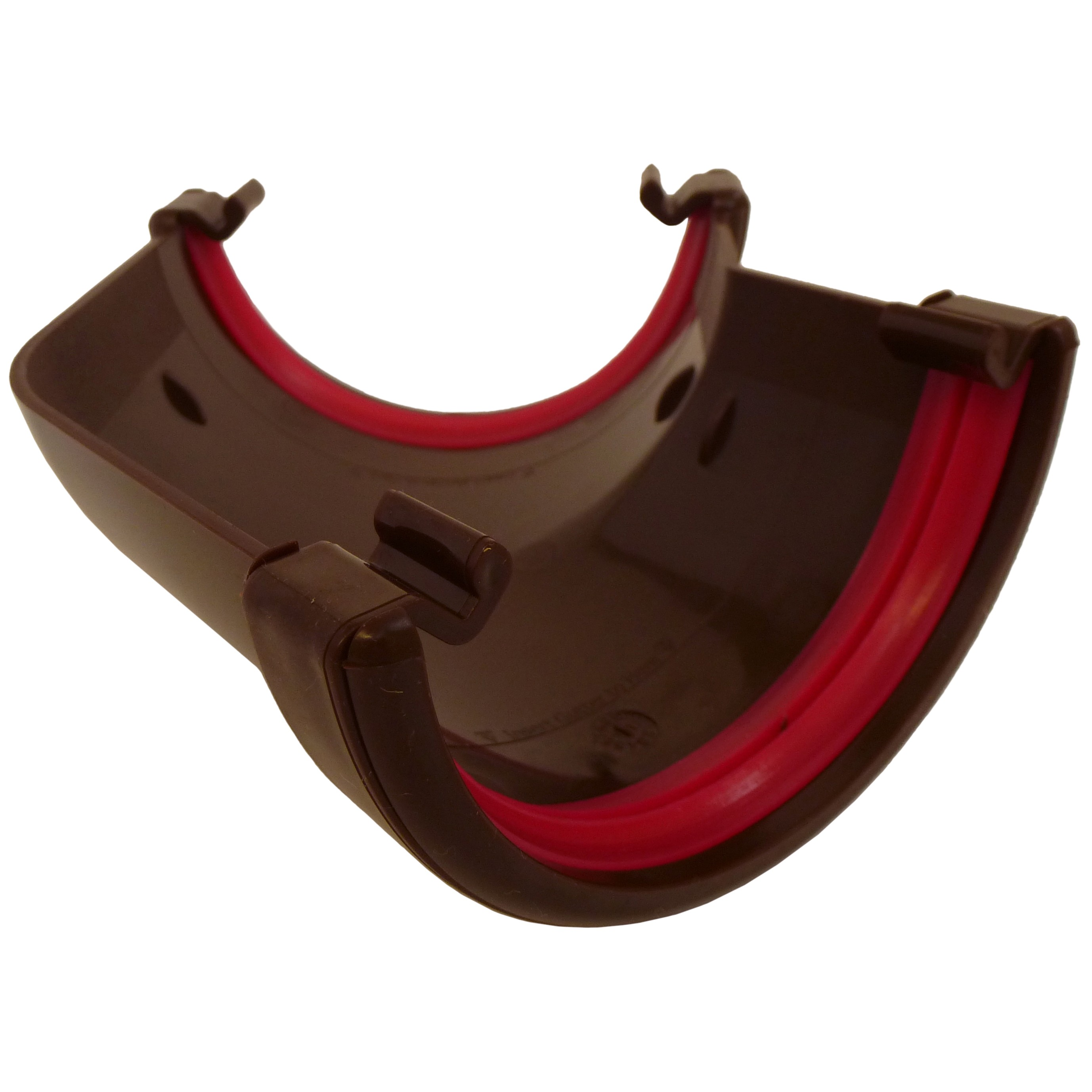 Freeflow 112mm Half Round Gutter 135 Degree Angle - Brown