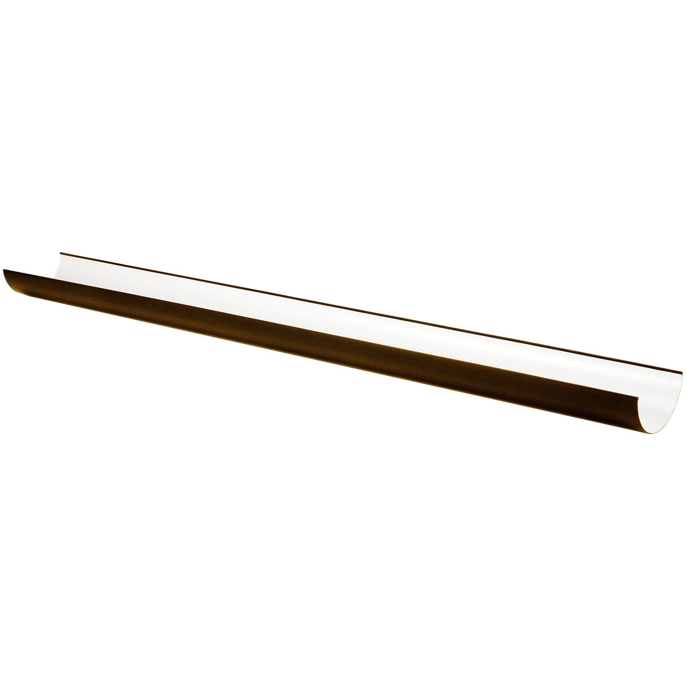 Freeflow 112mm Half Round Gutter - Brown, 4 metre