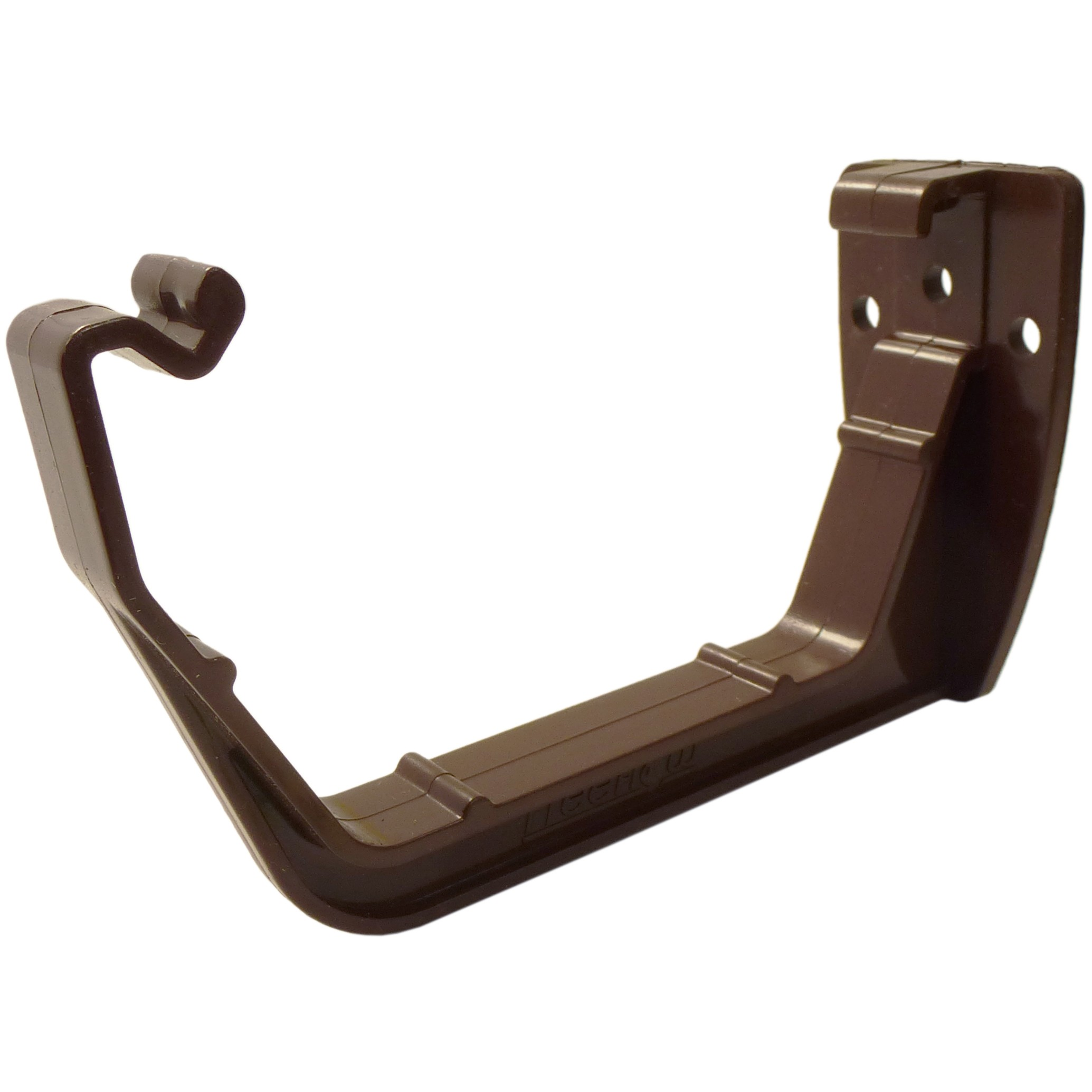 Freeflow 114mm Square Gutter Fascia Bracket - Brown