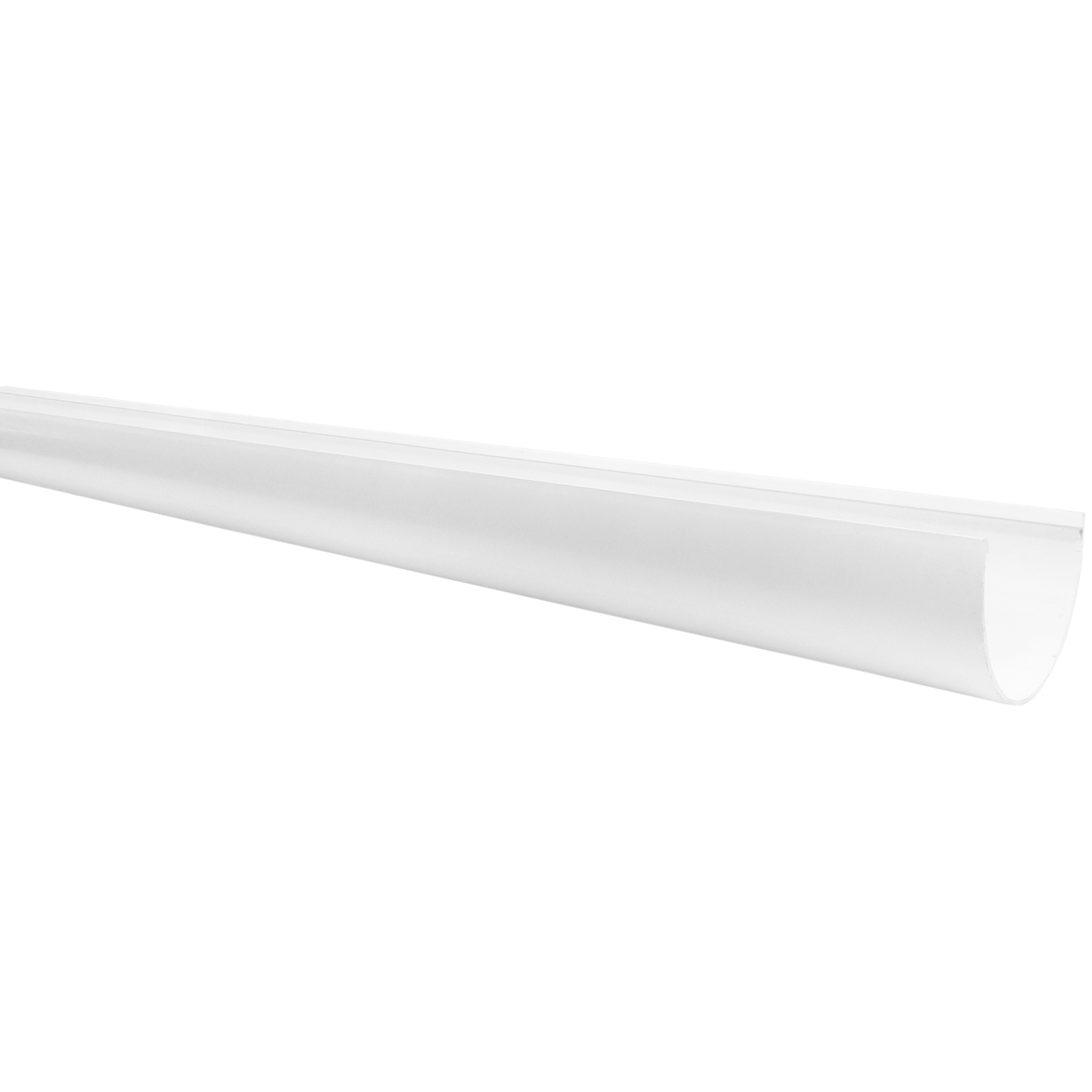 Freeflow 116mm Deep Gutter - White, 4 metre
