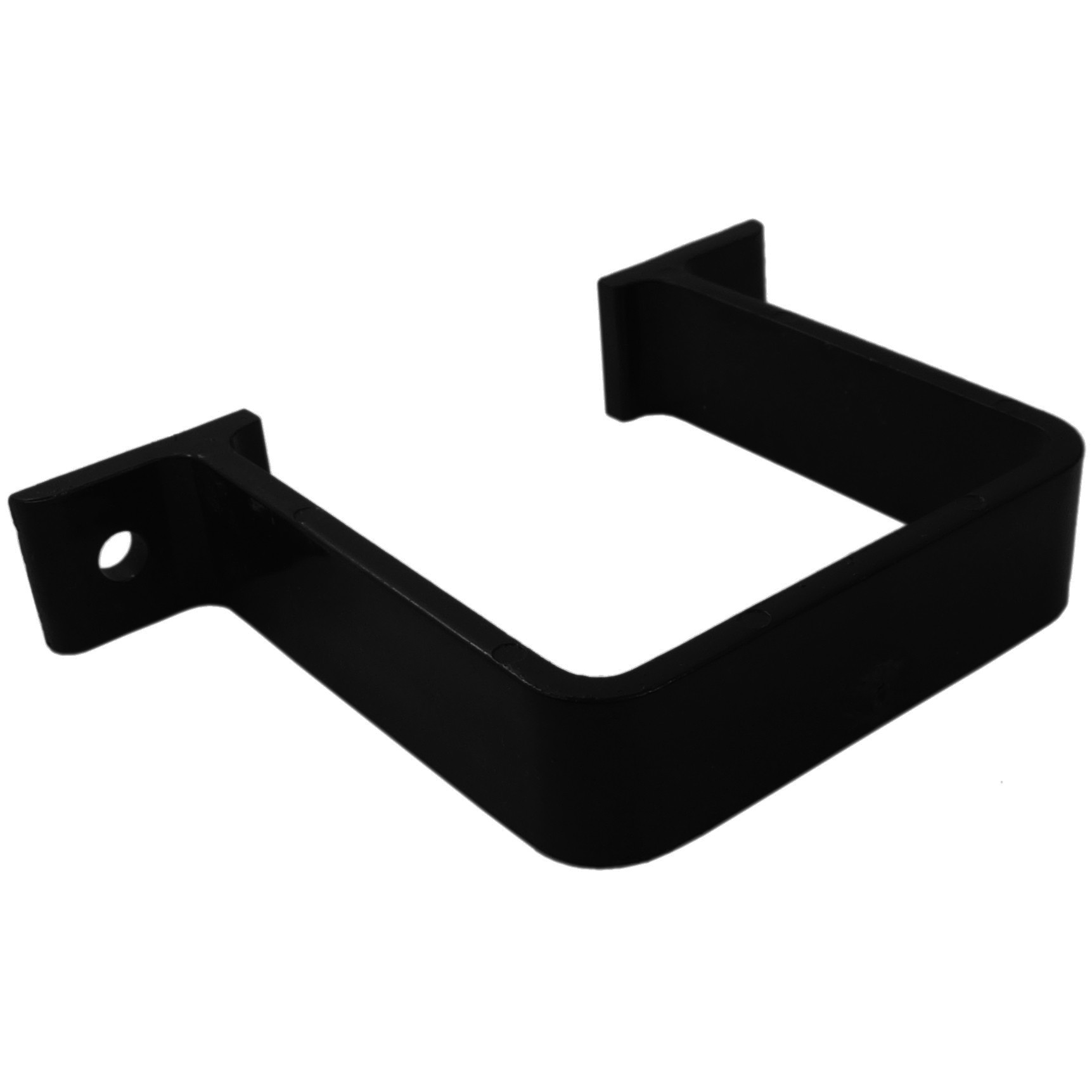 Freeflow 65mm Square Down Pipe Clip (Flush) - Black