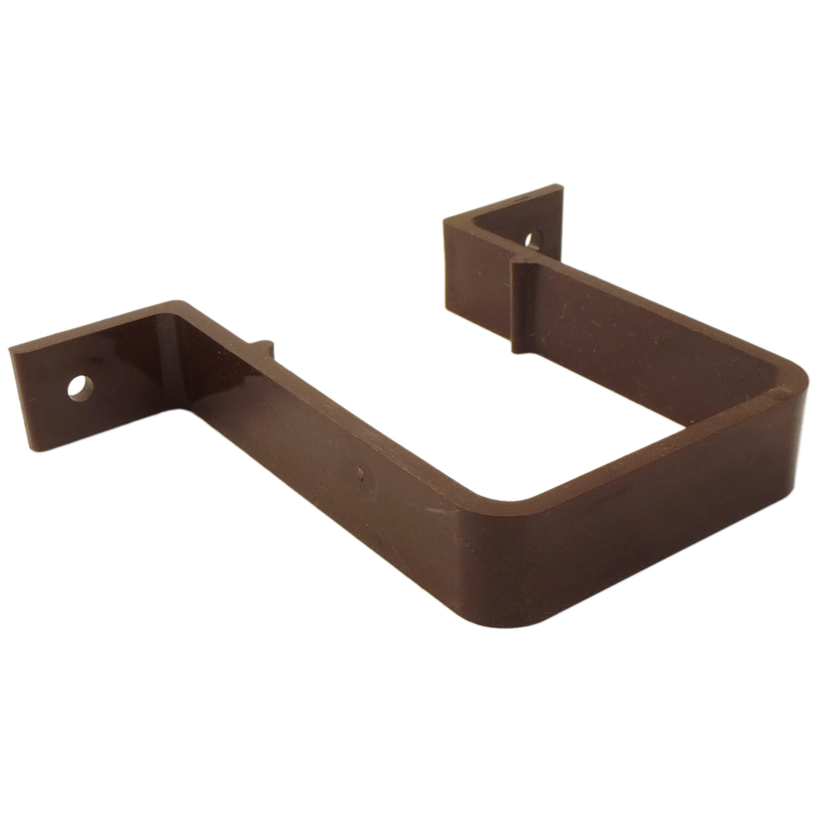 Freeflow 65mm Square Down Pipe Clip (Standard) - Brown