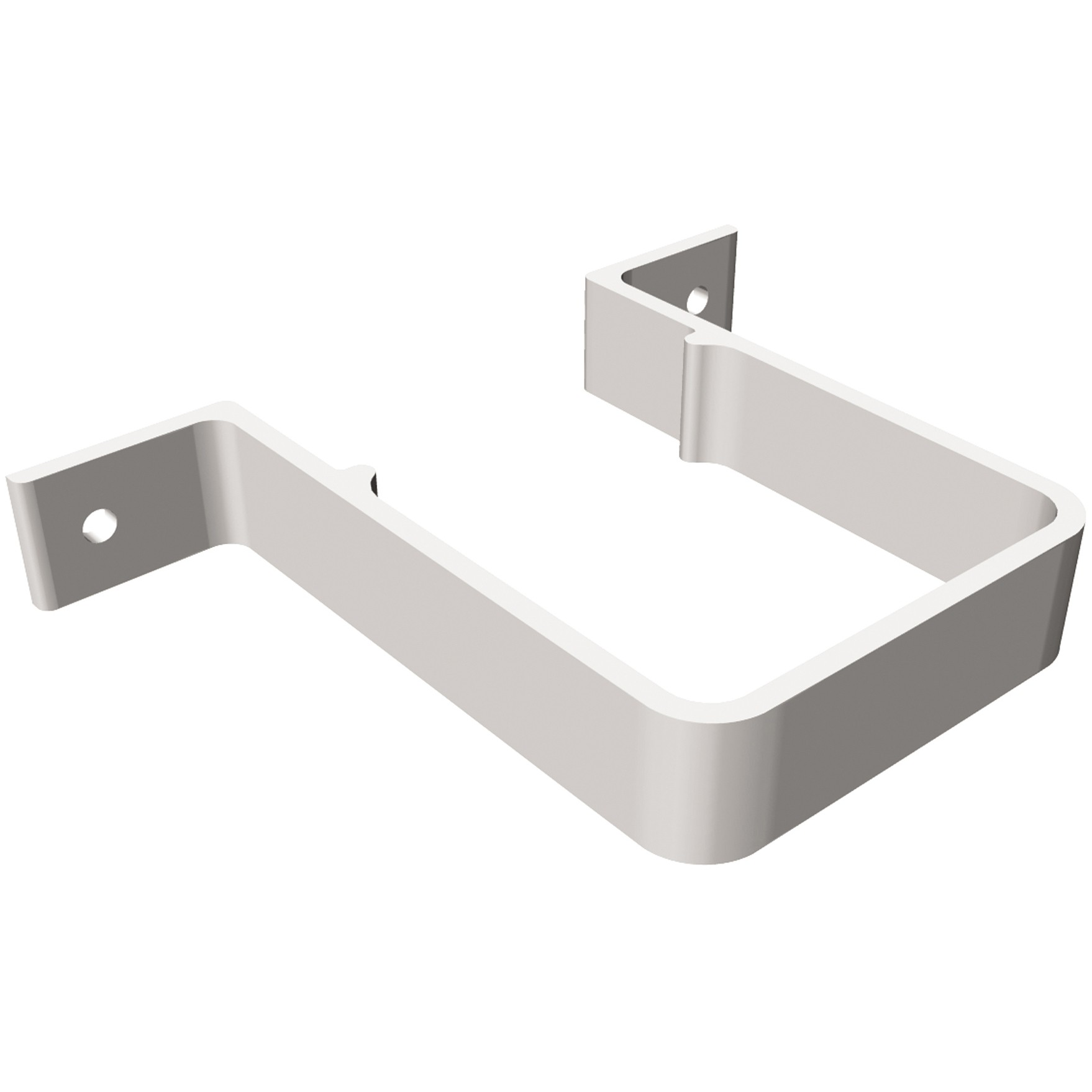 Freeflow 65mm Square Down Pipe Clip (Standard) - White