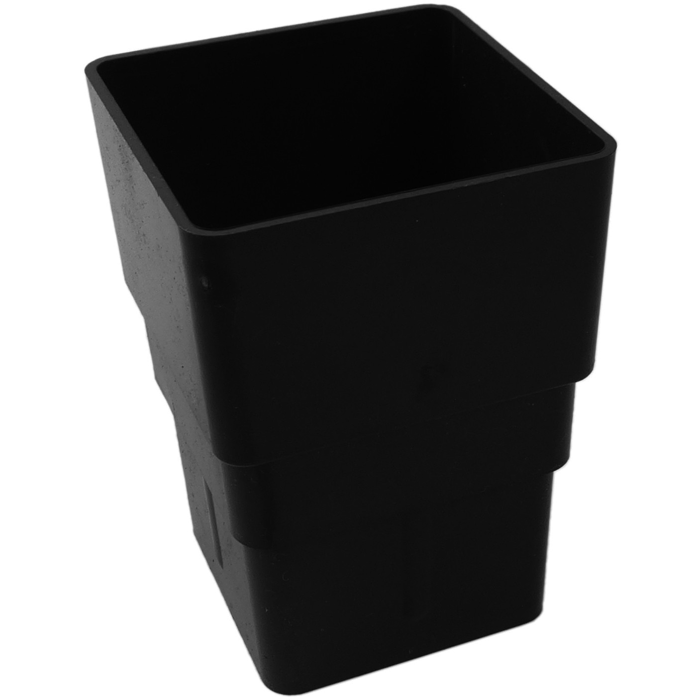 Freeflow 65mm Square Down Pipe Connector - Black