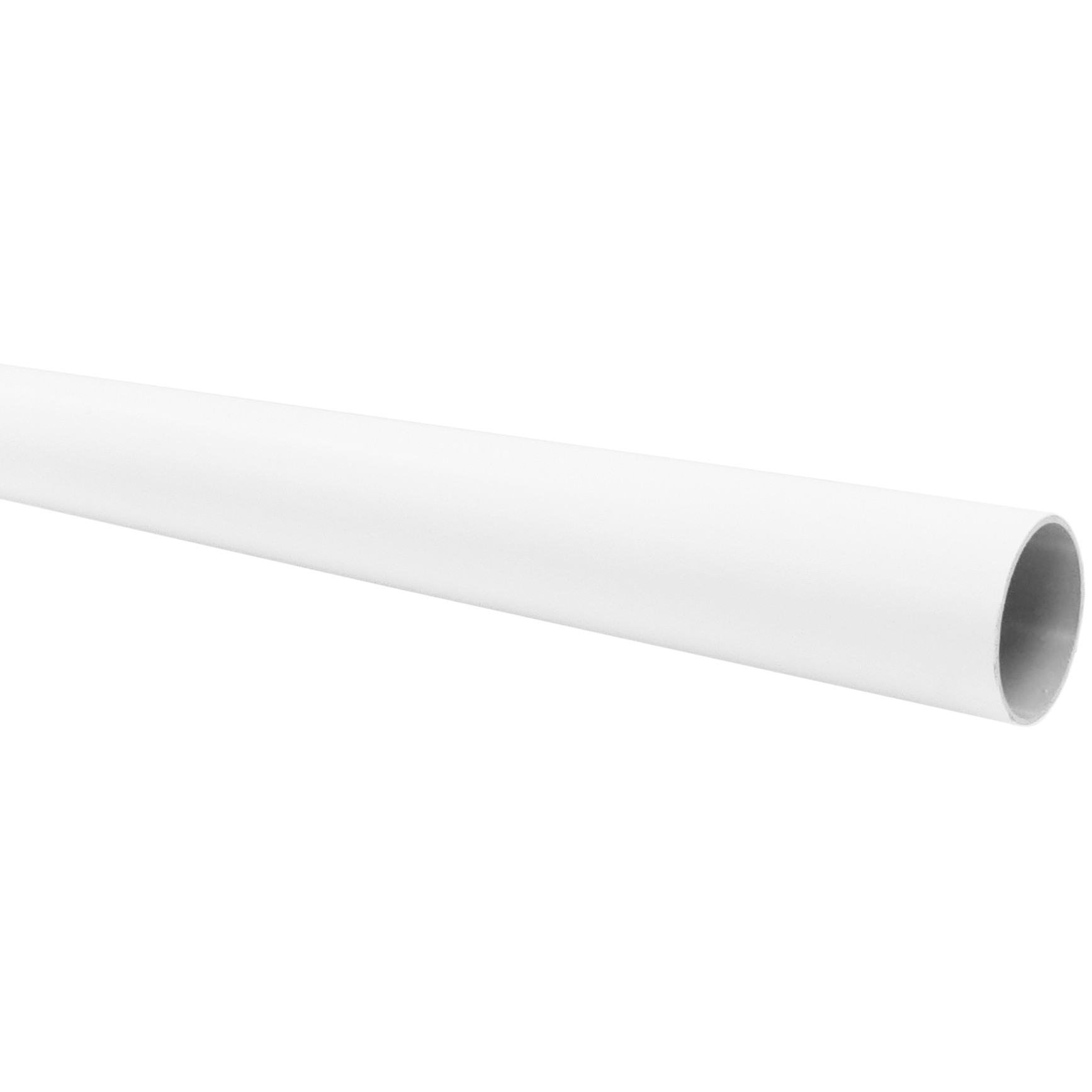 Freeflow 68mm Round Down Pipe - White, 5.5 metre