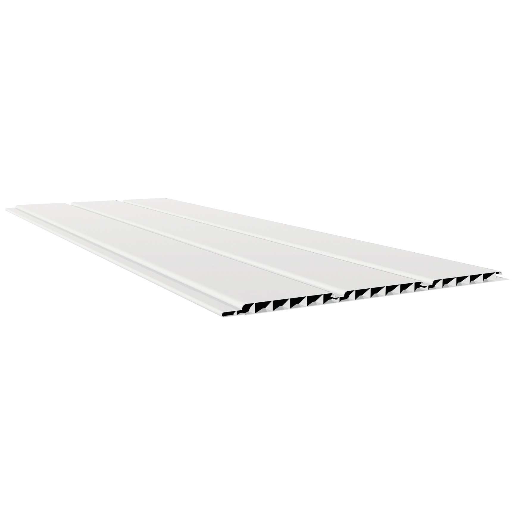 Freefoam 10mm Hollow Soffit Board - White, 300mm, 5 metre