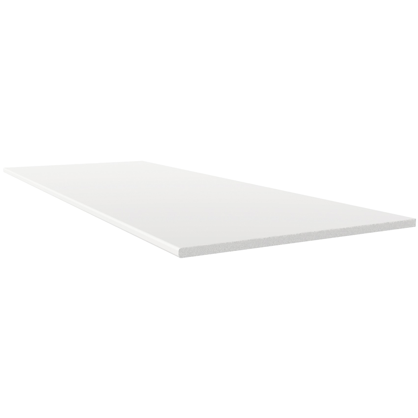 Freefoam 10mm Solid Soffit Board - White, 100mm, 5 metre