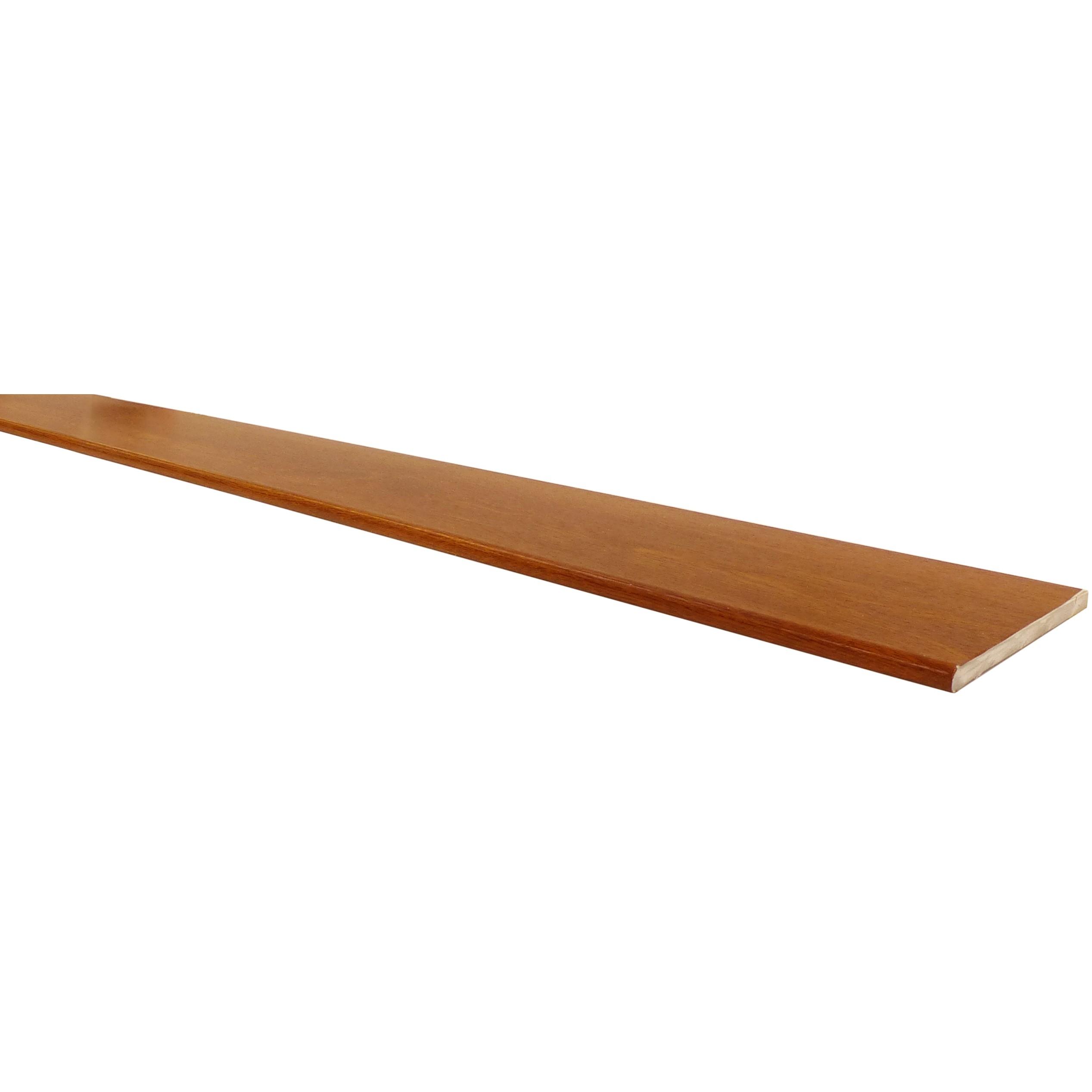 Freefoam 10mm Solid Soffit Board - Woodgrain Light Oak, 100mm, 5 metre