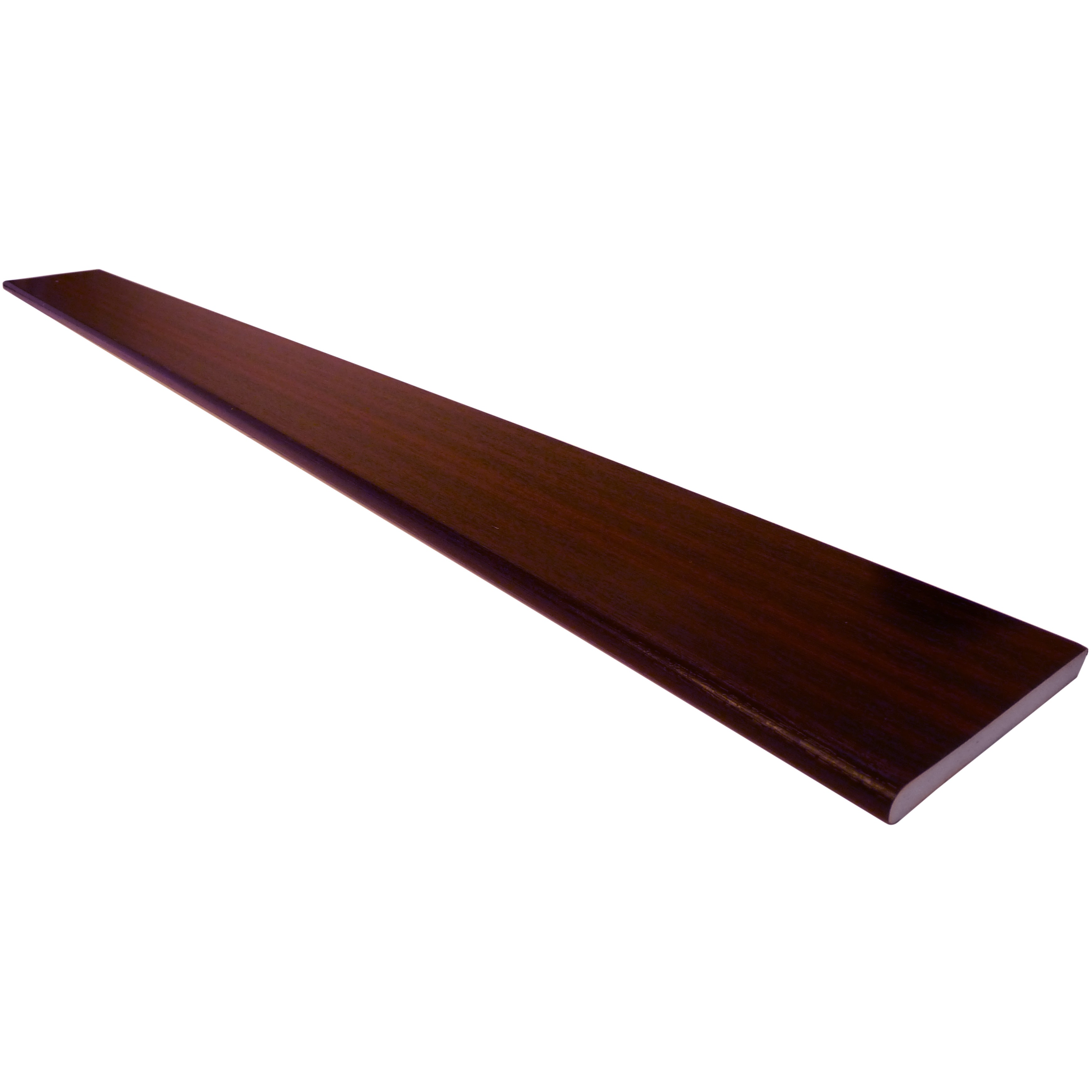 Freefoam 10mm Solid Soffit Board - Woodgrain Mahogany, 225mm, 5 metre