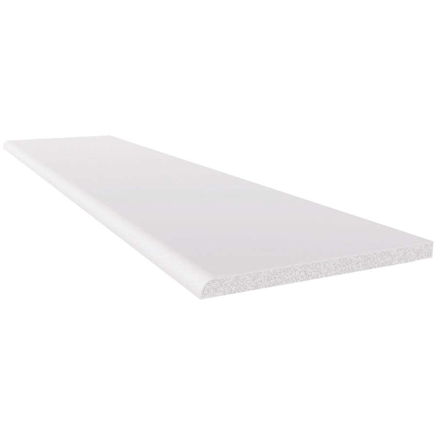 Freefoam 6mm Plastic Architrave - White, 90mm, 2.5 metre