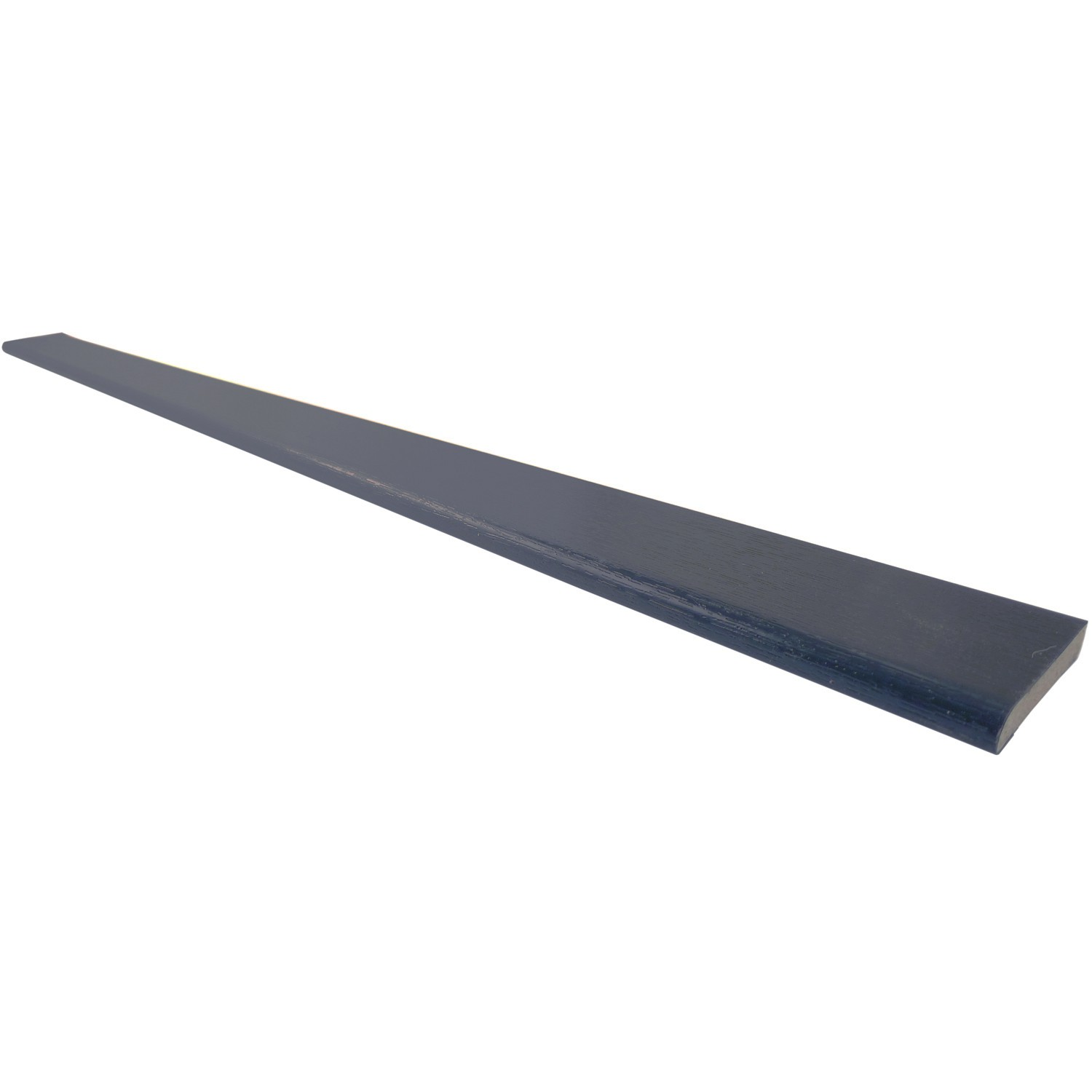 Freefoam 6mm Plastic Architrave - Woodgrain Anthracite Grey, 40mm, 5 Metre