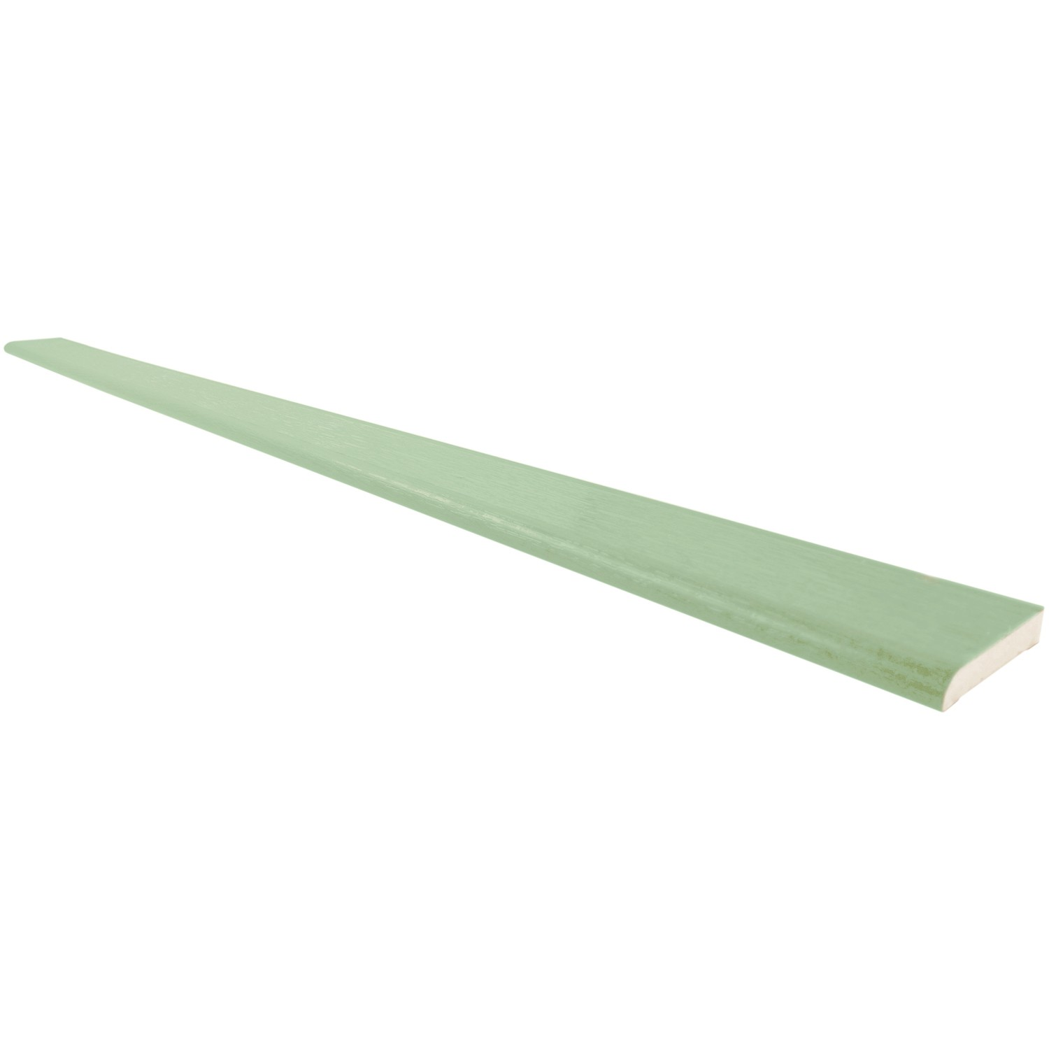 Freefoam 6mm Plastic Architrave - Woodgrain Chartwell Green, 90mm, 5 Metre