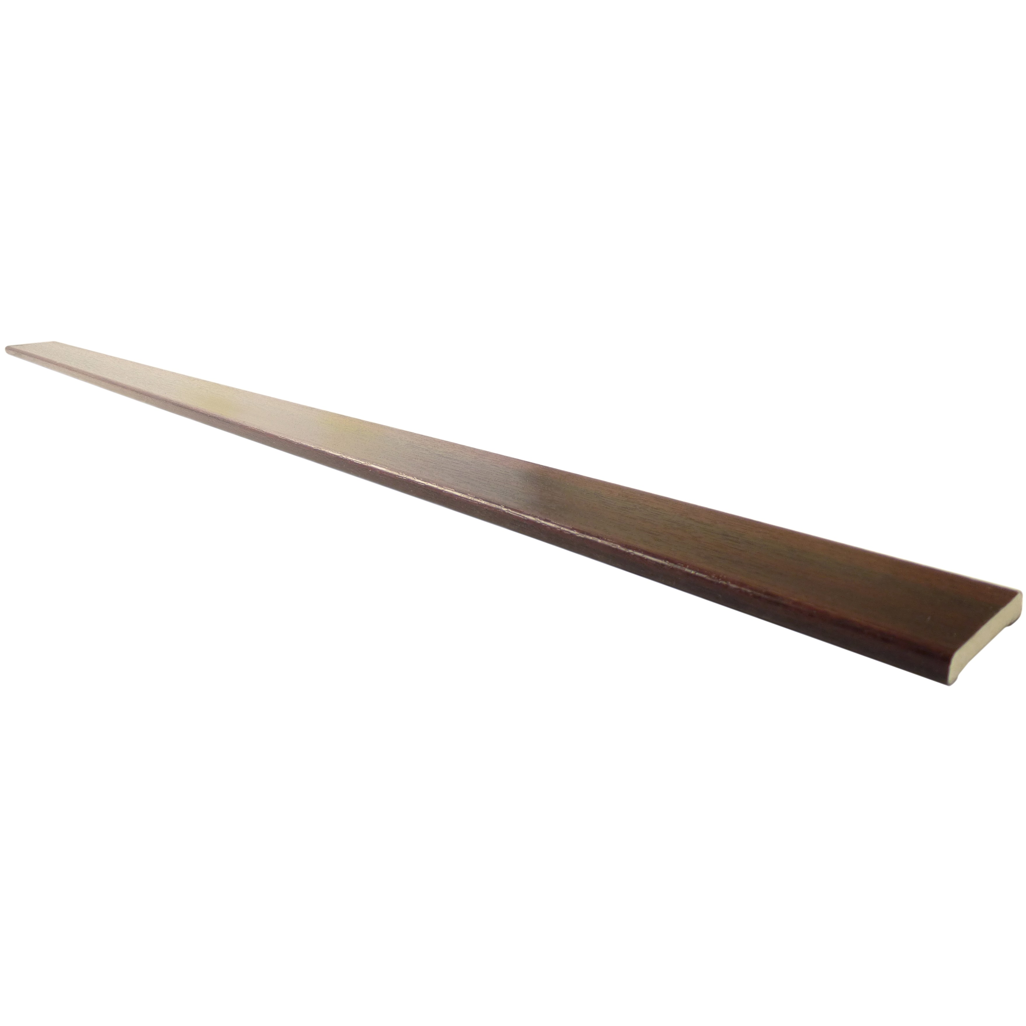 Freefoam 6mm Plastic Architrave - Woodgrain Mahogany, 40mm, 5 metre