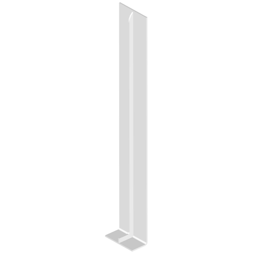 Freefoam Magnum Flat Fascia Joiner (Double) - White