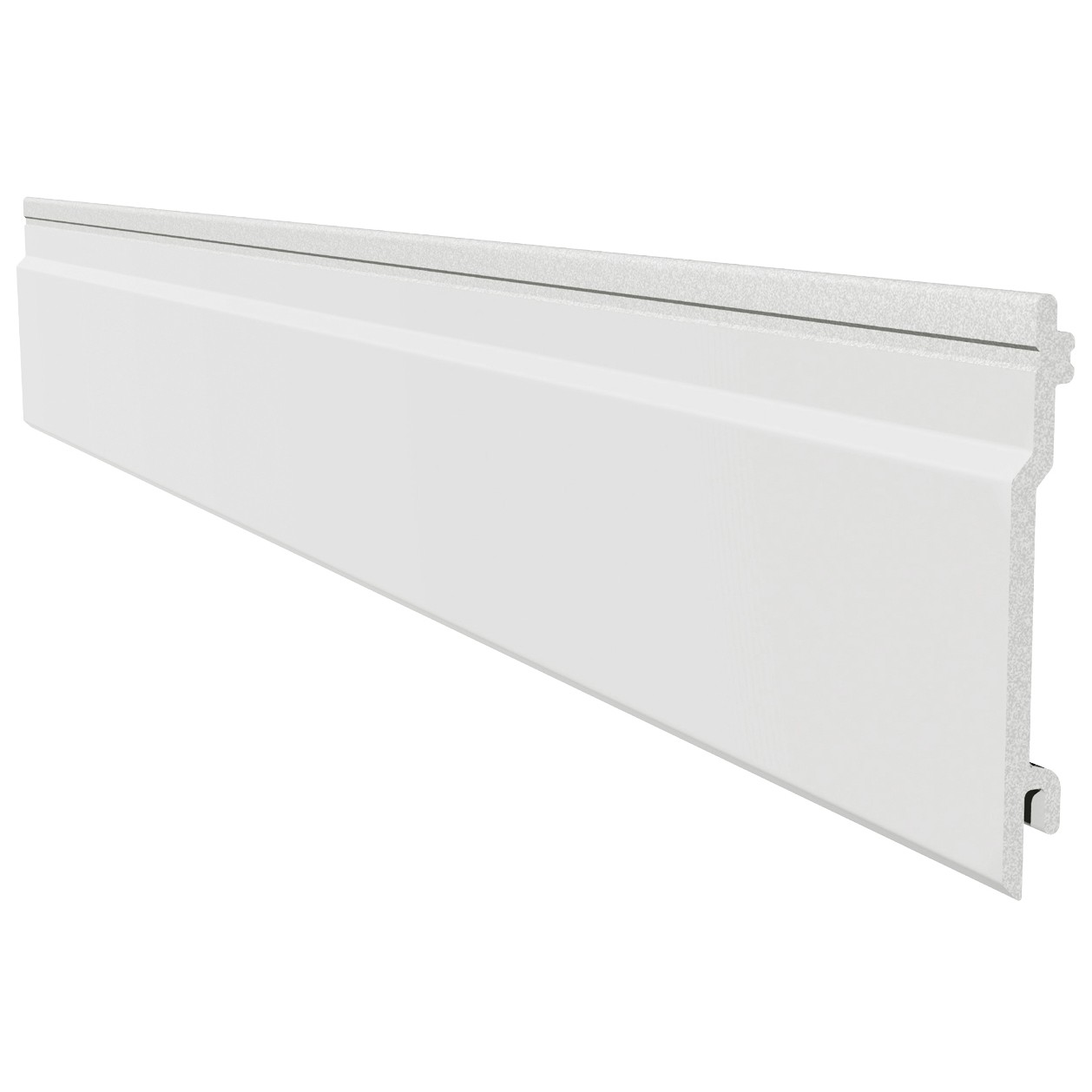 Freefoam Open V Cladding - White, 100mm, 5 Metre