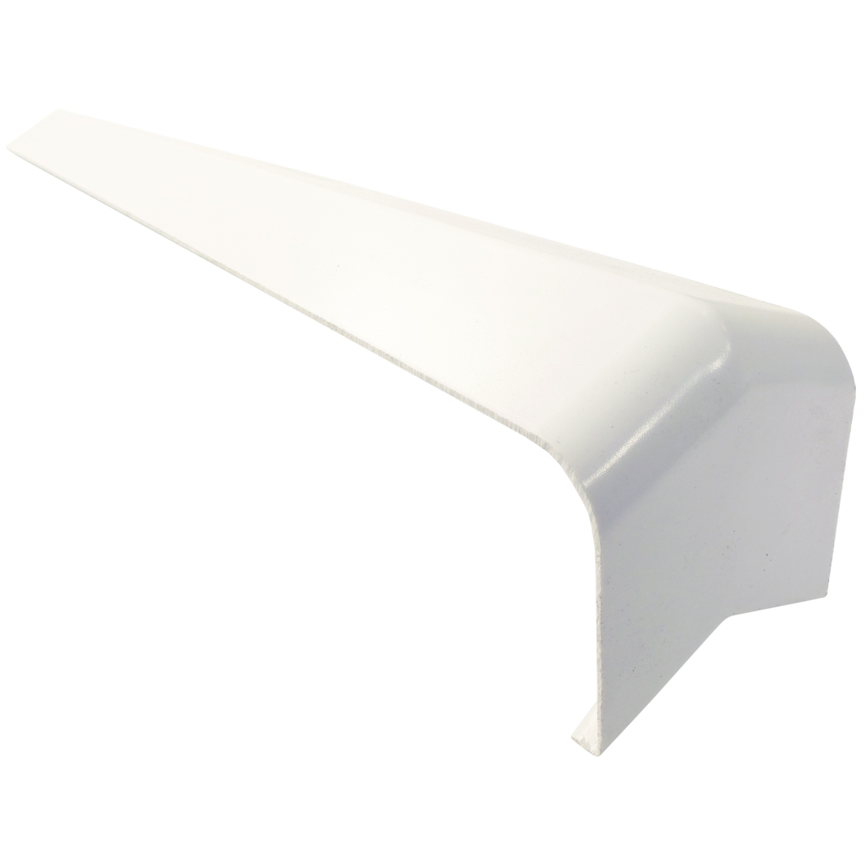 Freefoam Plain Fascia Board 135 Degree External Corner - White