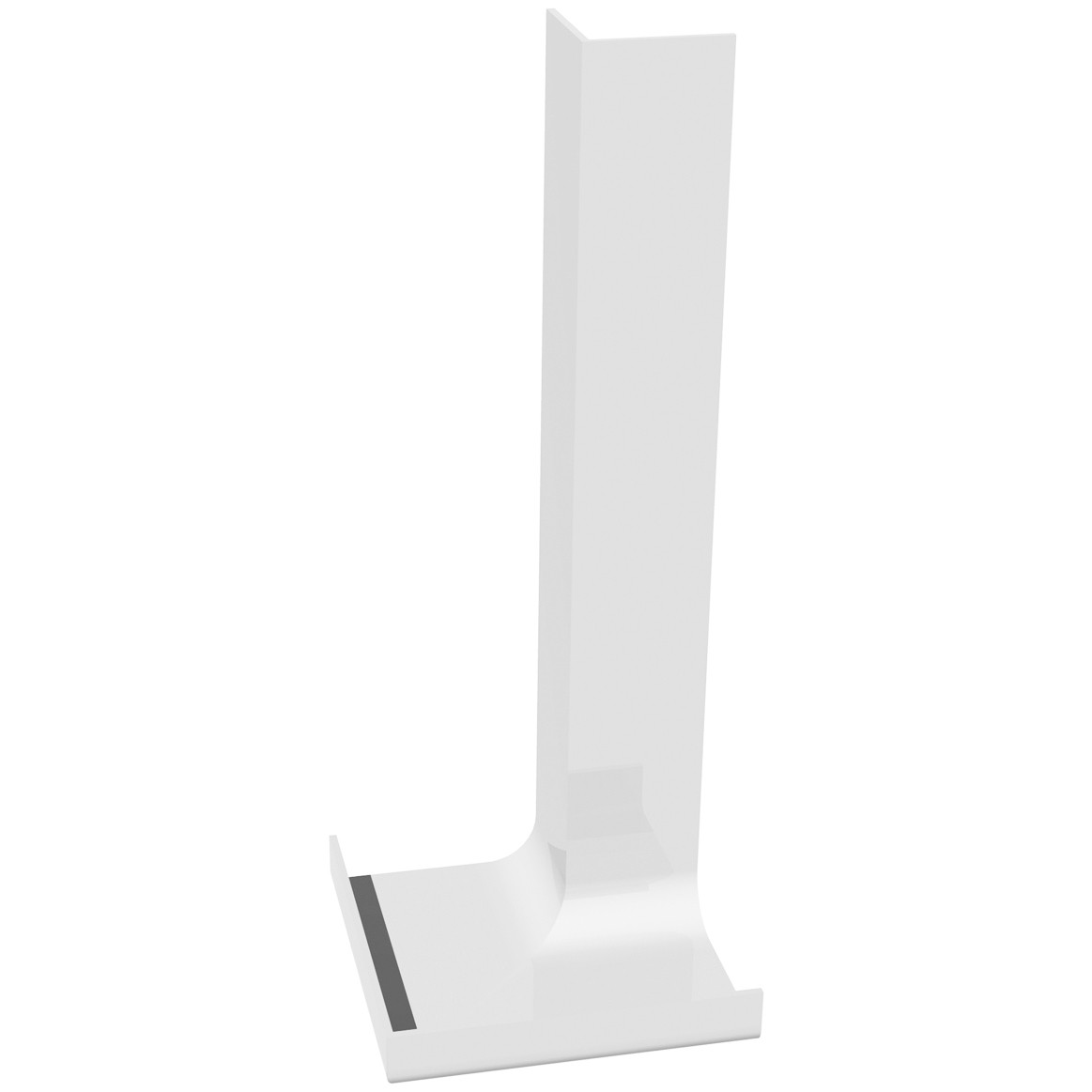 Freefoam Plain Fascia Board Internal Corner (Single) - White