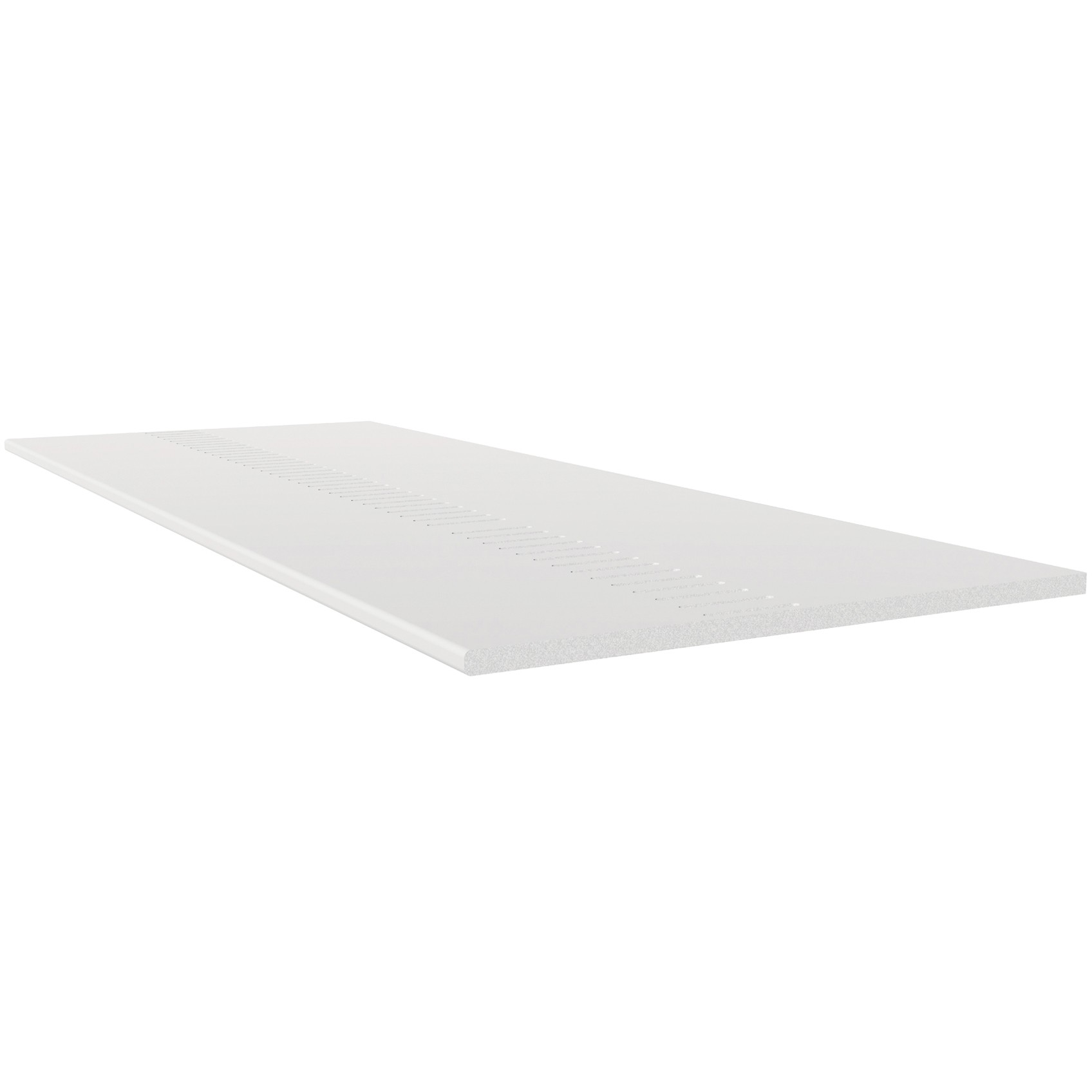 Freefoam Pre Vented 10mm Solid Soffit Board - White, 150mm, 5 metre