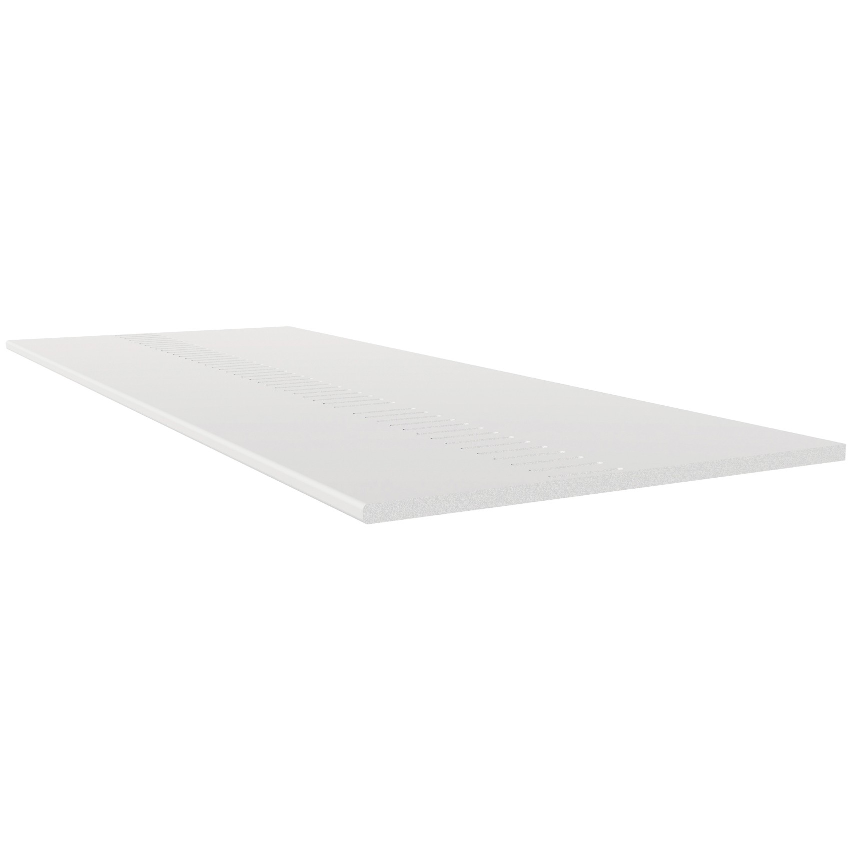 Freefoam Pre Vented 10mm Solid Soffit Board - White, 350mm, 5 metre