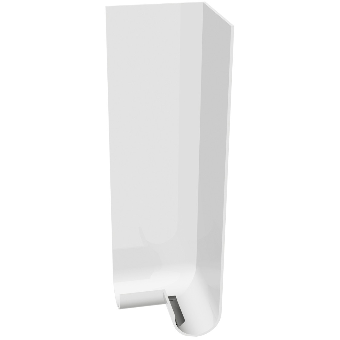 Freefoam Round Nose 18mm Fascia Board External Corner (Double) - White