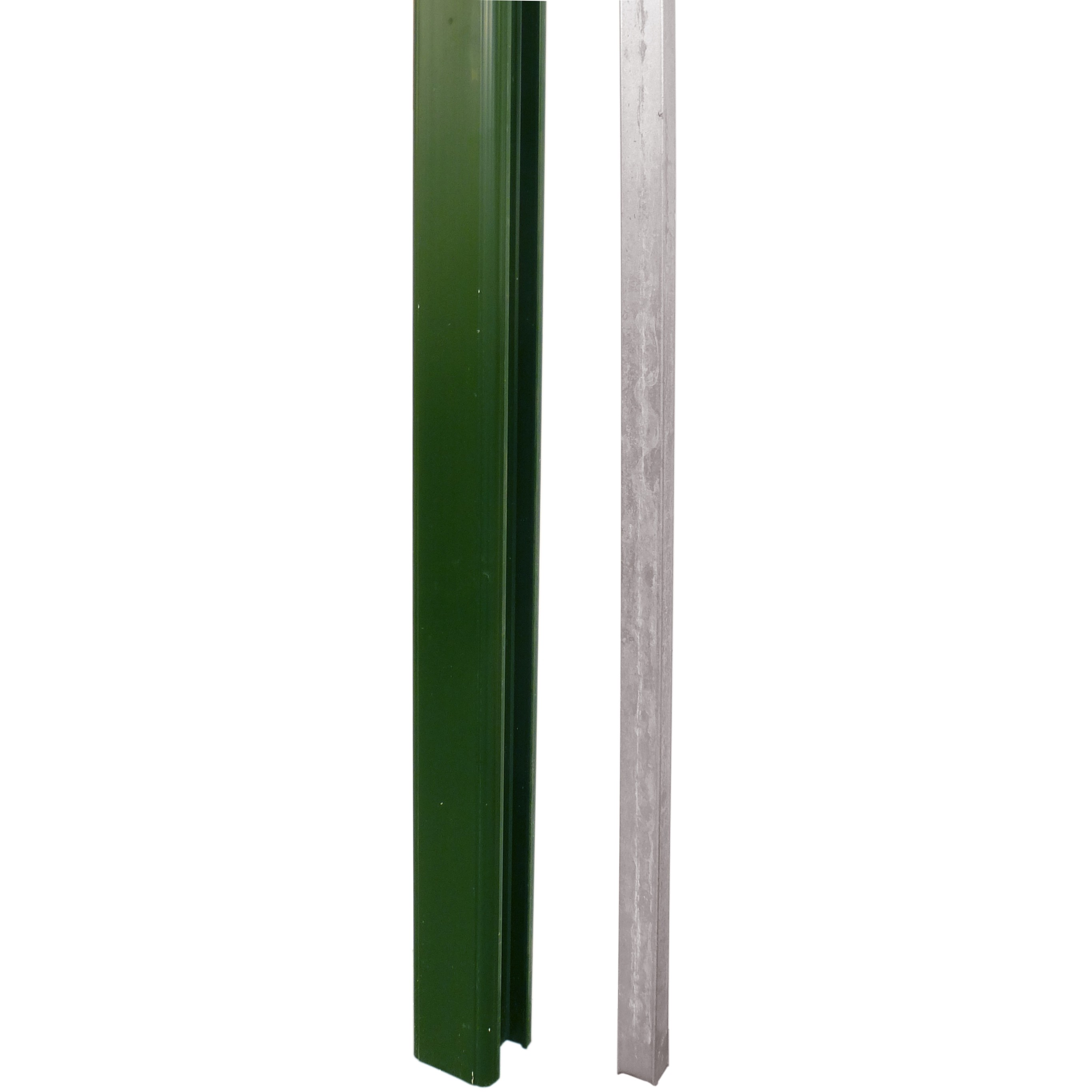 Liniar Plastic 8ft Fence Post - Green