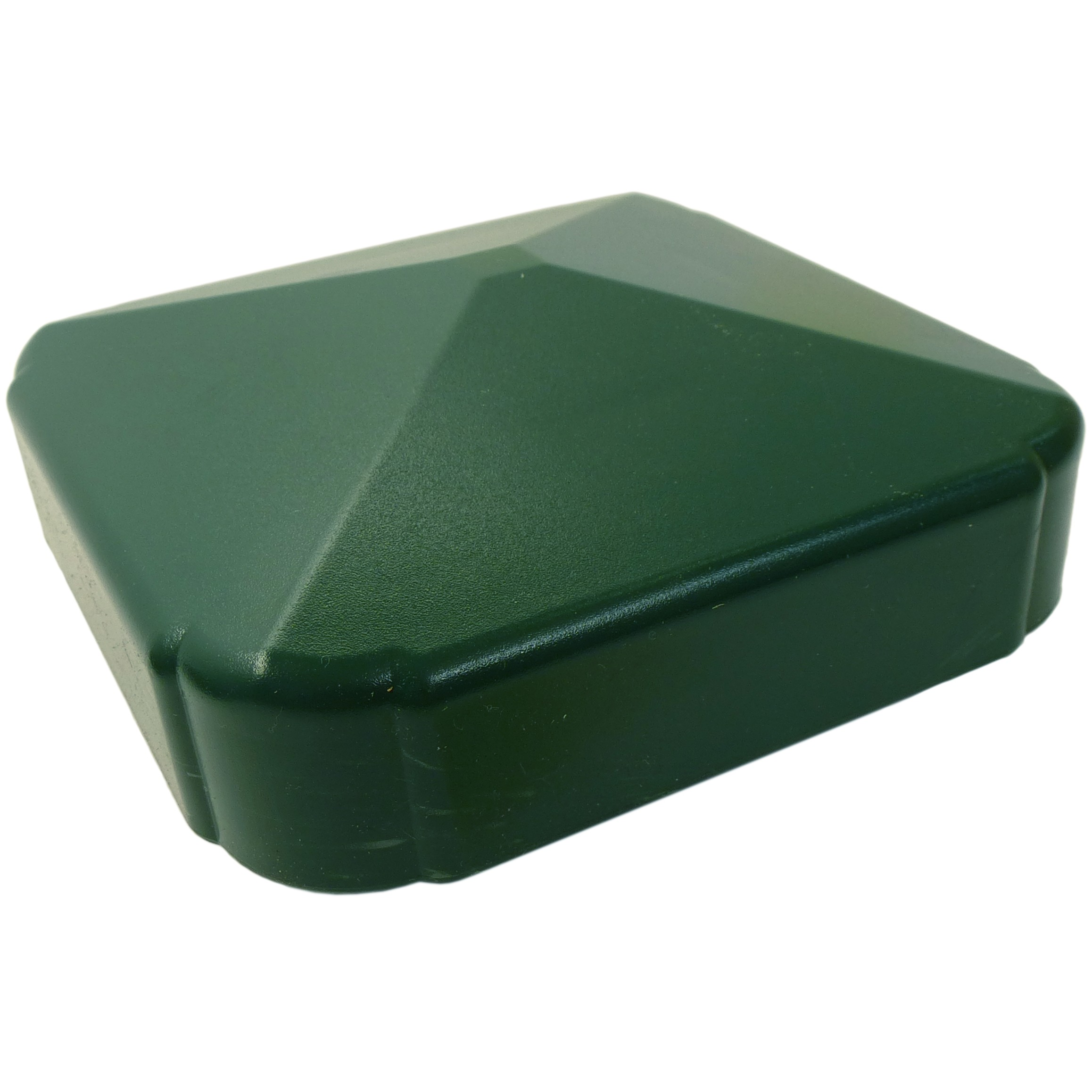 Liniar Plastic Fence Post Cap - Green