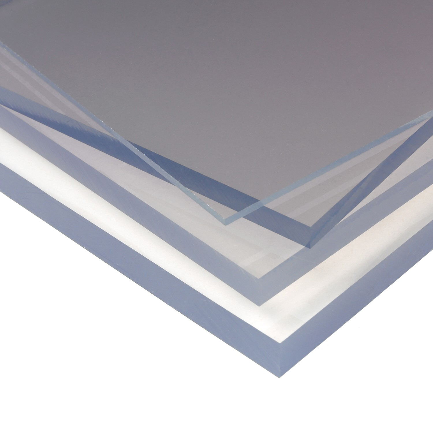 PSD 3mm A4 Size Solid Polycarbonate Plastic Sheet - Clear, 297mm x 210mm