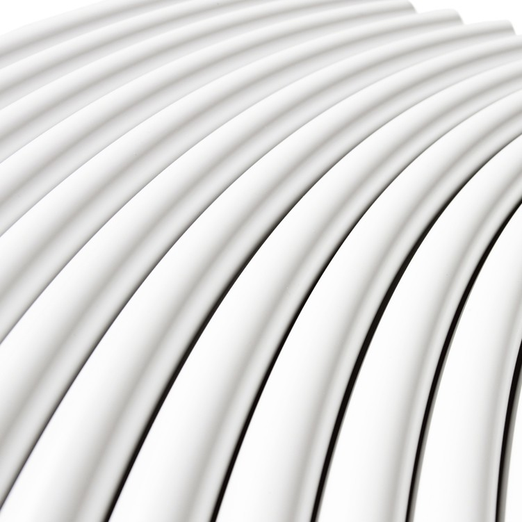 PolyFit 22mm Barrier Polybutylene Coil Pipe - White, 50 Metre