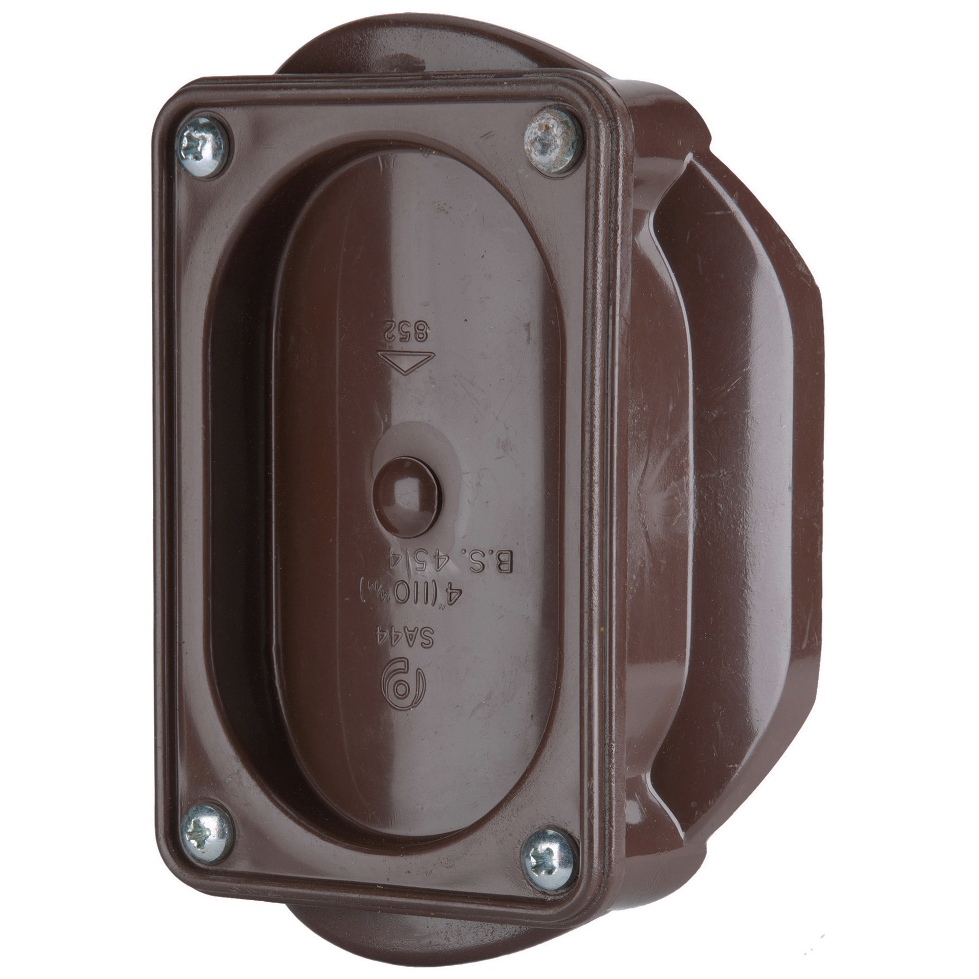 Polypipe 110mm Soil Access Saddle - Brown