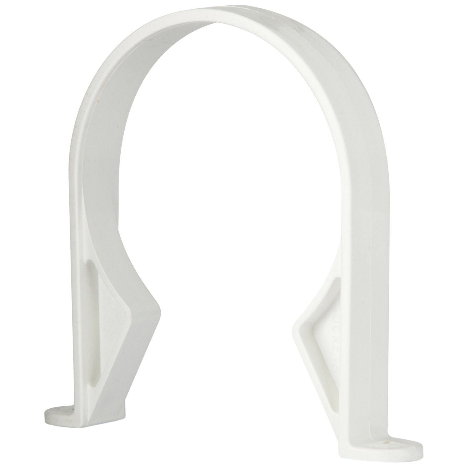 Polypipe 110mm Soil Pipe Clip - White