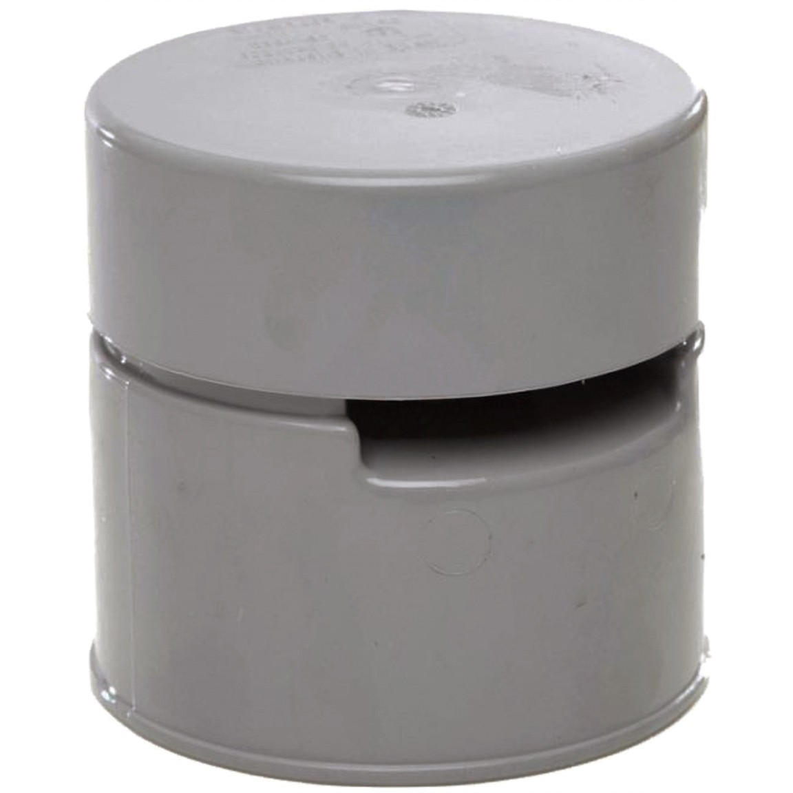 Polypipe 110mm Soil Solvent Air Admittance Valve - Grey