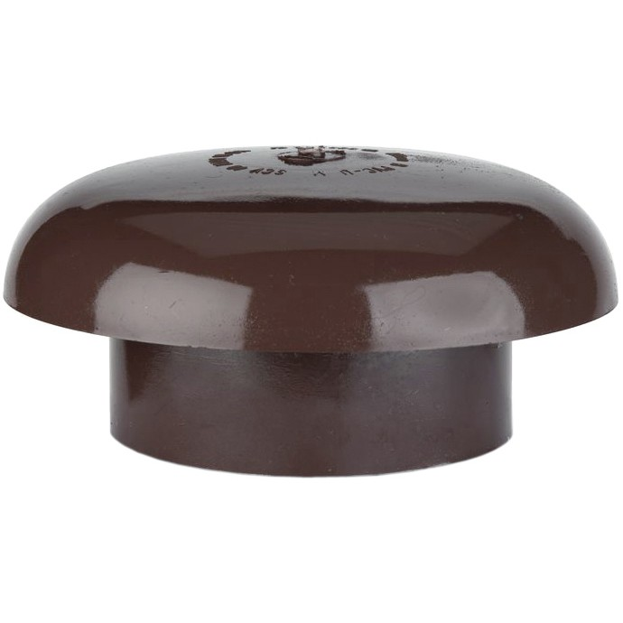 Polypipe 110mm Soil Vent Cowl - Brown