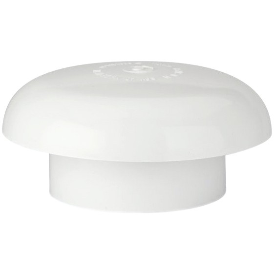 Polypipe 110mm Soil Vent Cowl - White