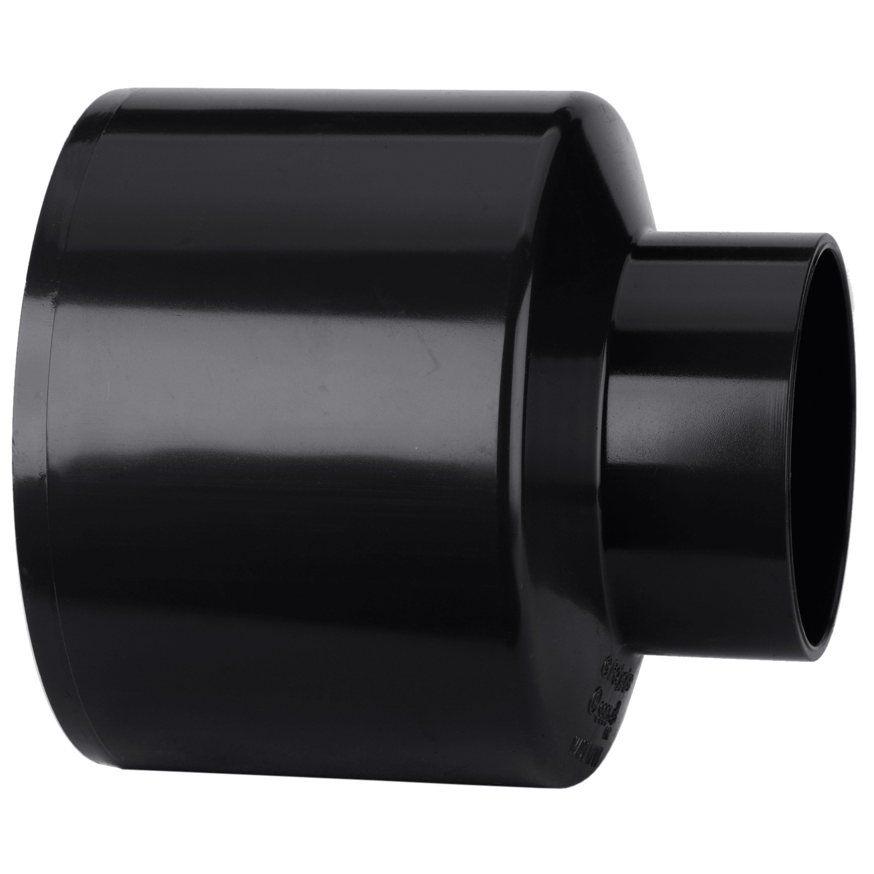 Polypipe 110mm Soil to Waste Reducer - Black