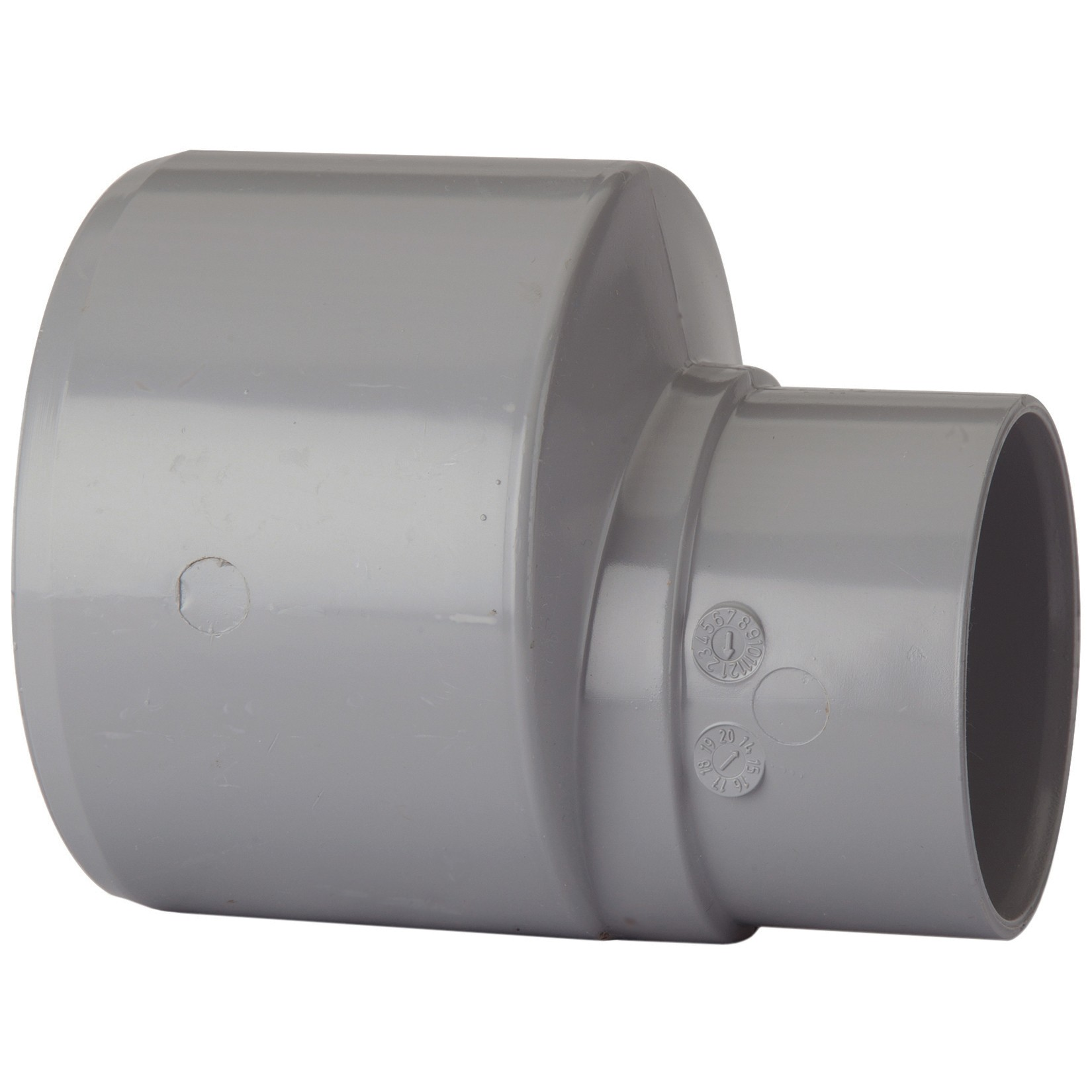 Polypipe 110mm To 68mm Rainwater Reducer - Grey
