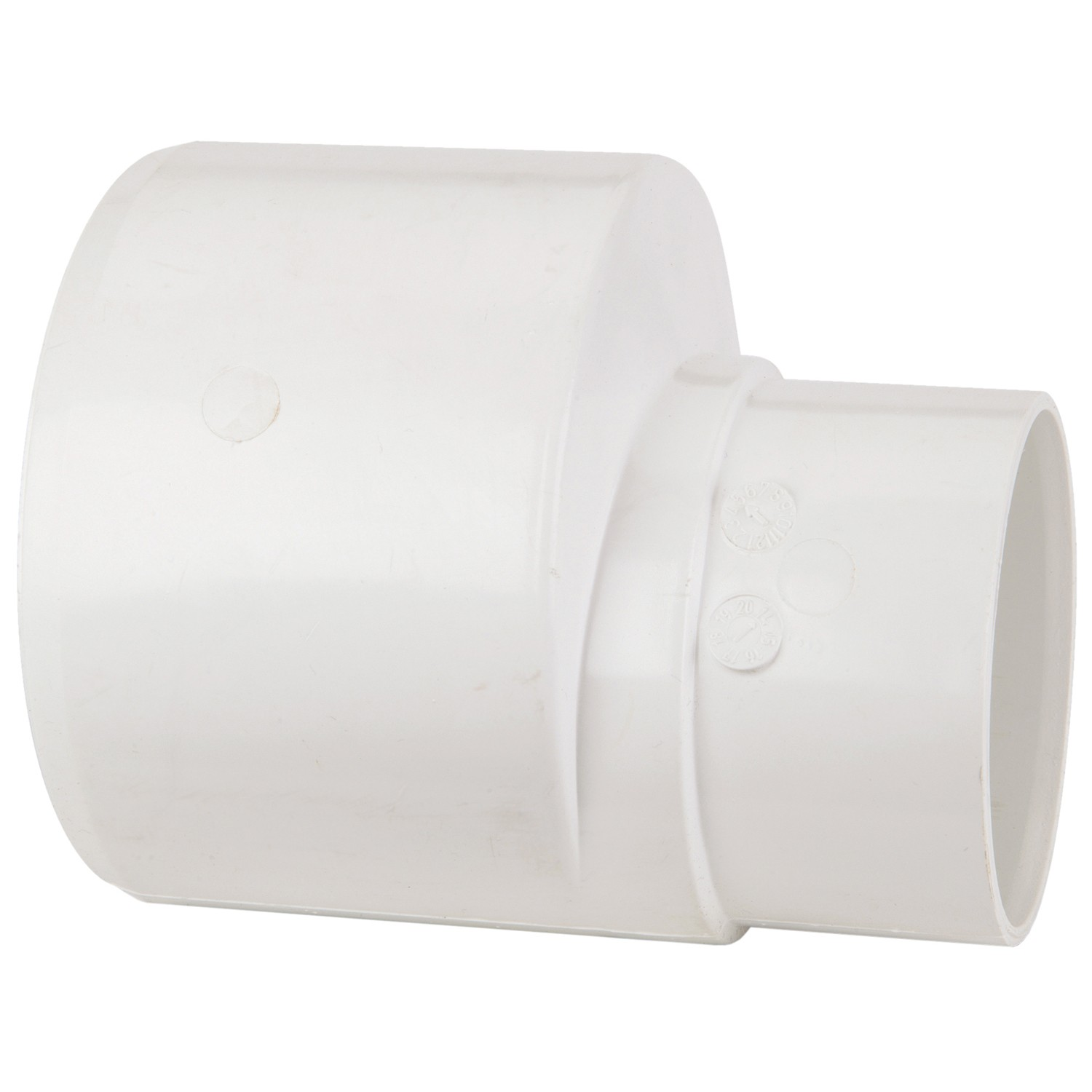 Polypipe 110mm To 68mm Rainwater Reducer - White