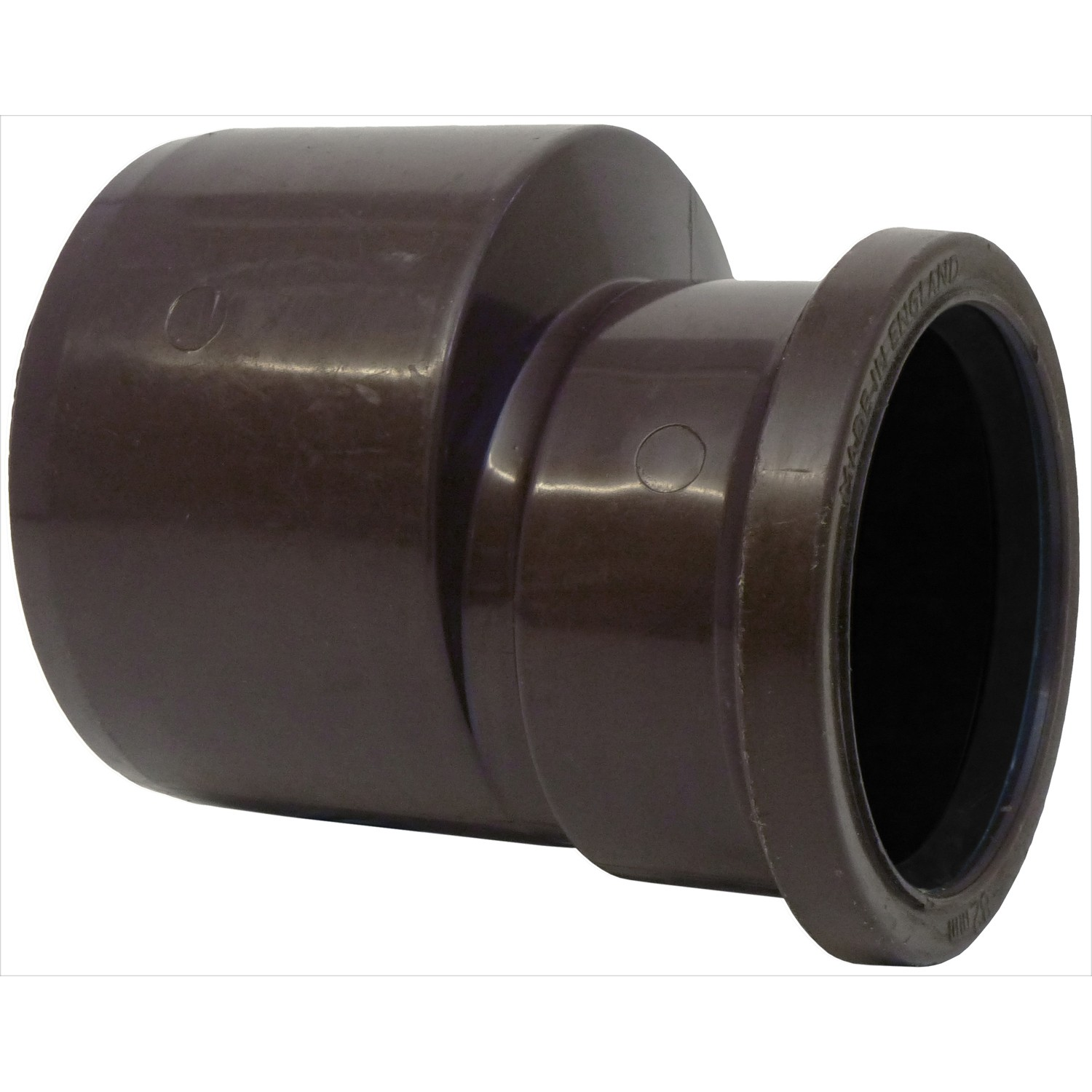 Polypipe 110mm To 82mm Soil Reducer - Brown