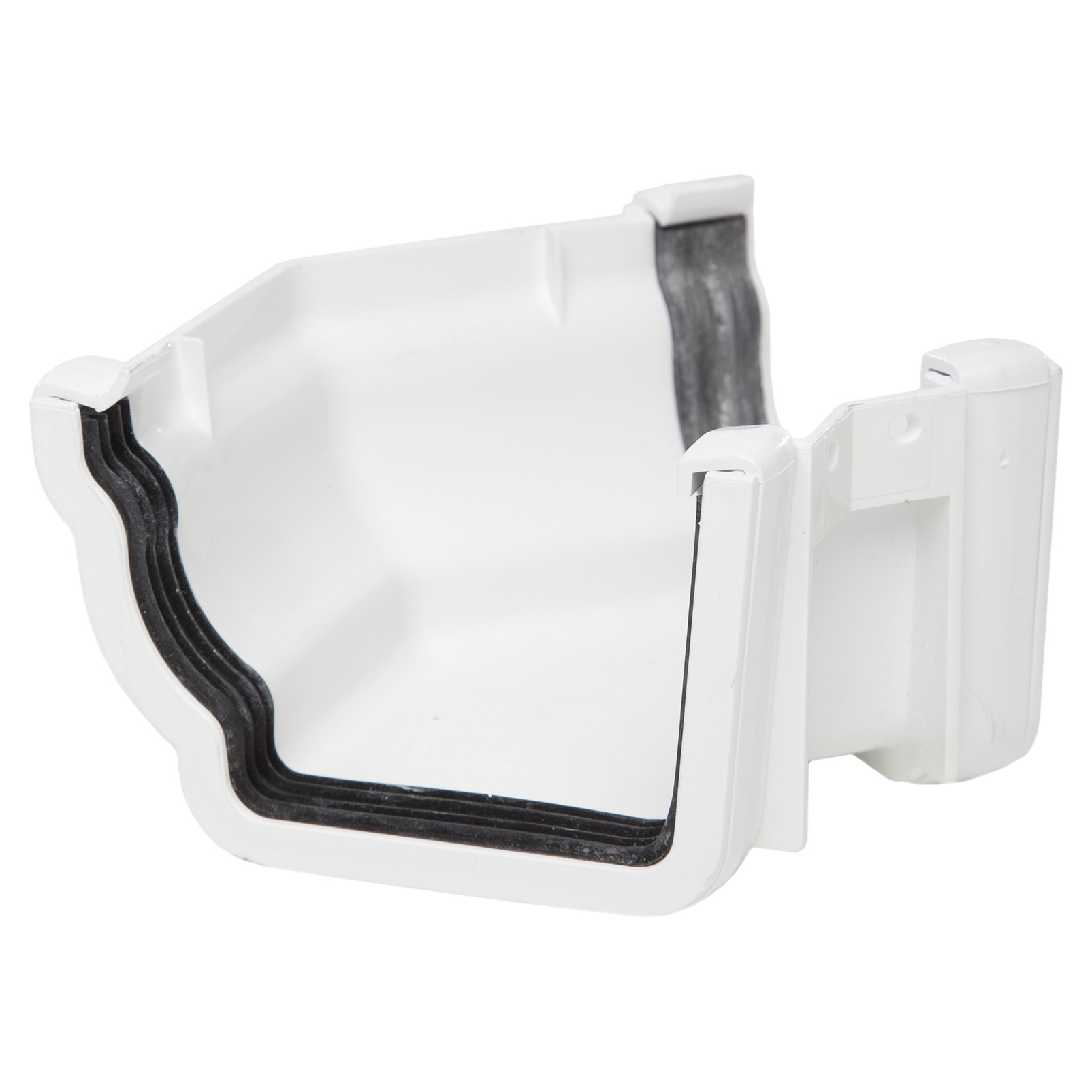 Polypipe 117mm Sovereign High Capacity 135 Degree Angle (External) - White
