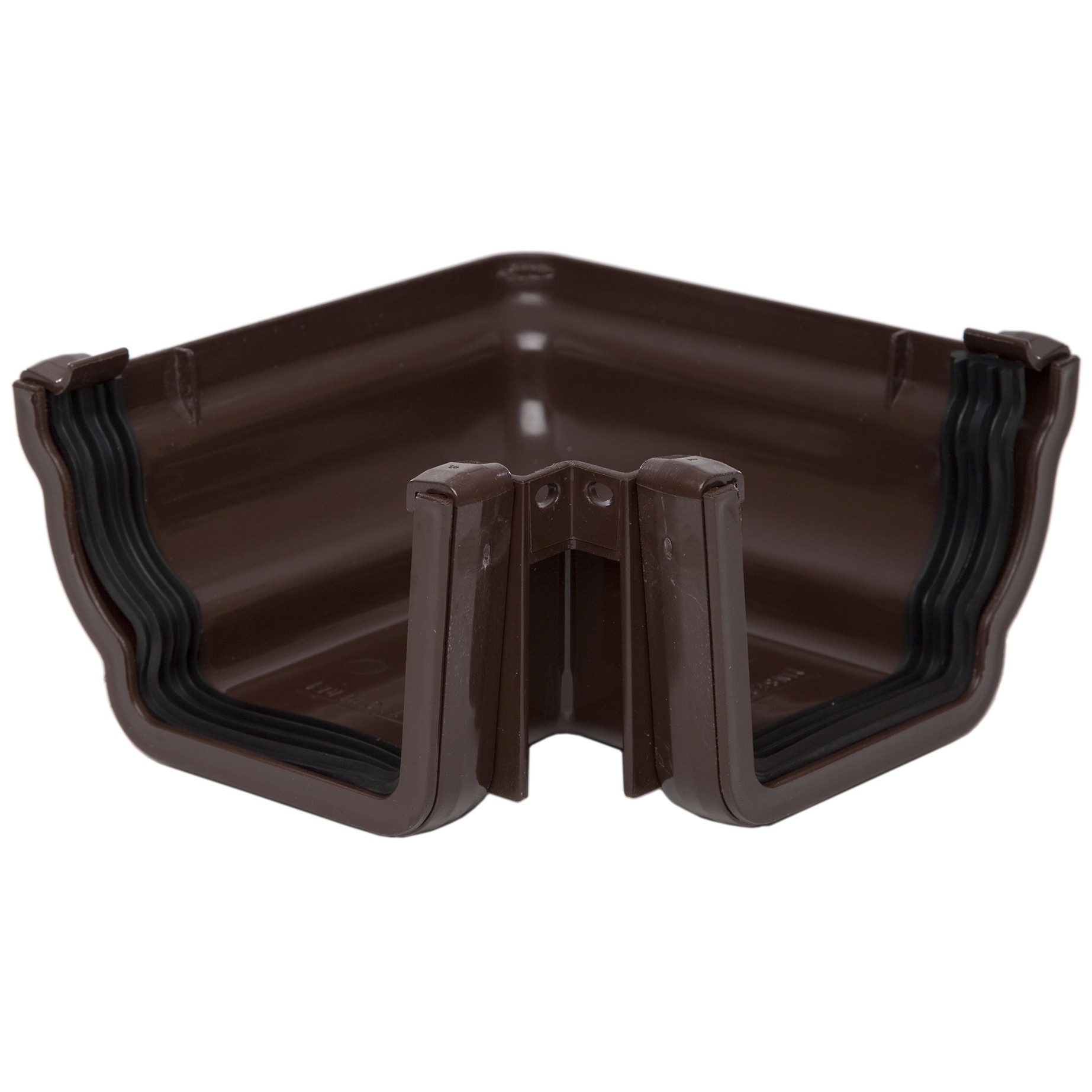 Polypipe 117mm Sovereign High Capacity 90 Degree Angle (External) - Brown