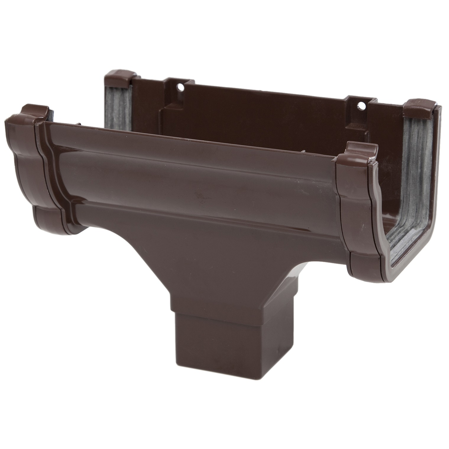 Polypipe 117mm Sovereign High Capacity Running Outlet - Brown