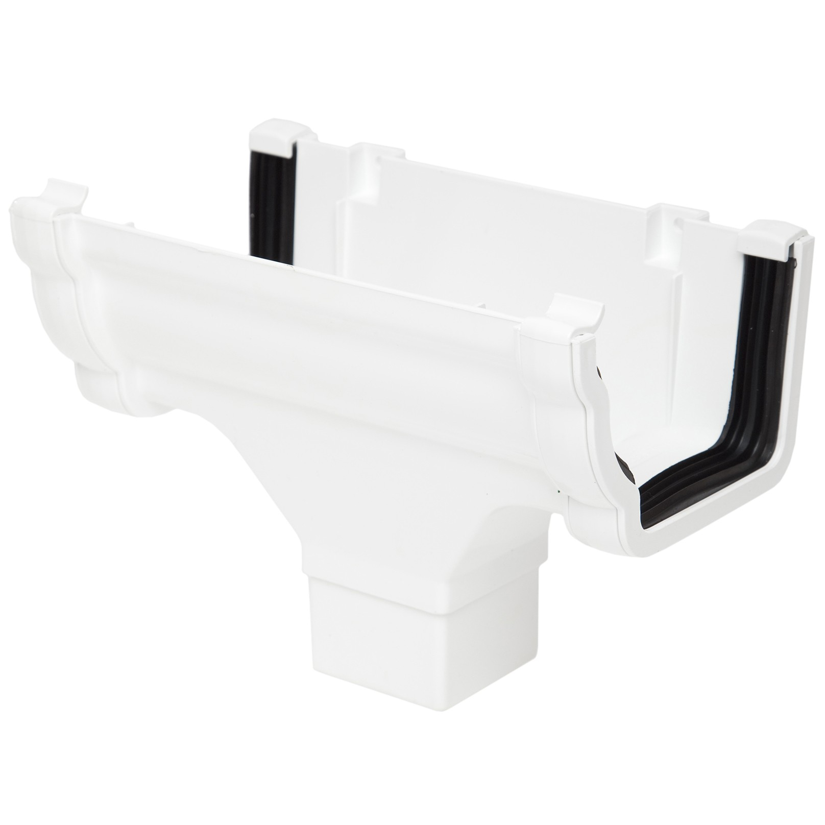 Polypipe 117mm Sovereign High Capacity Running Outlet - White