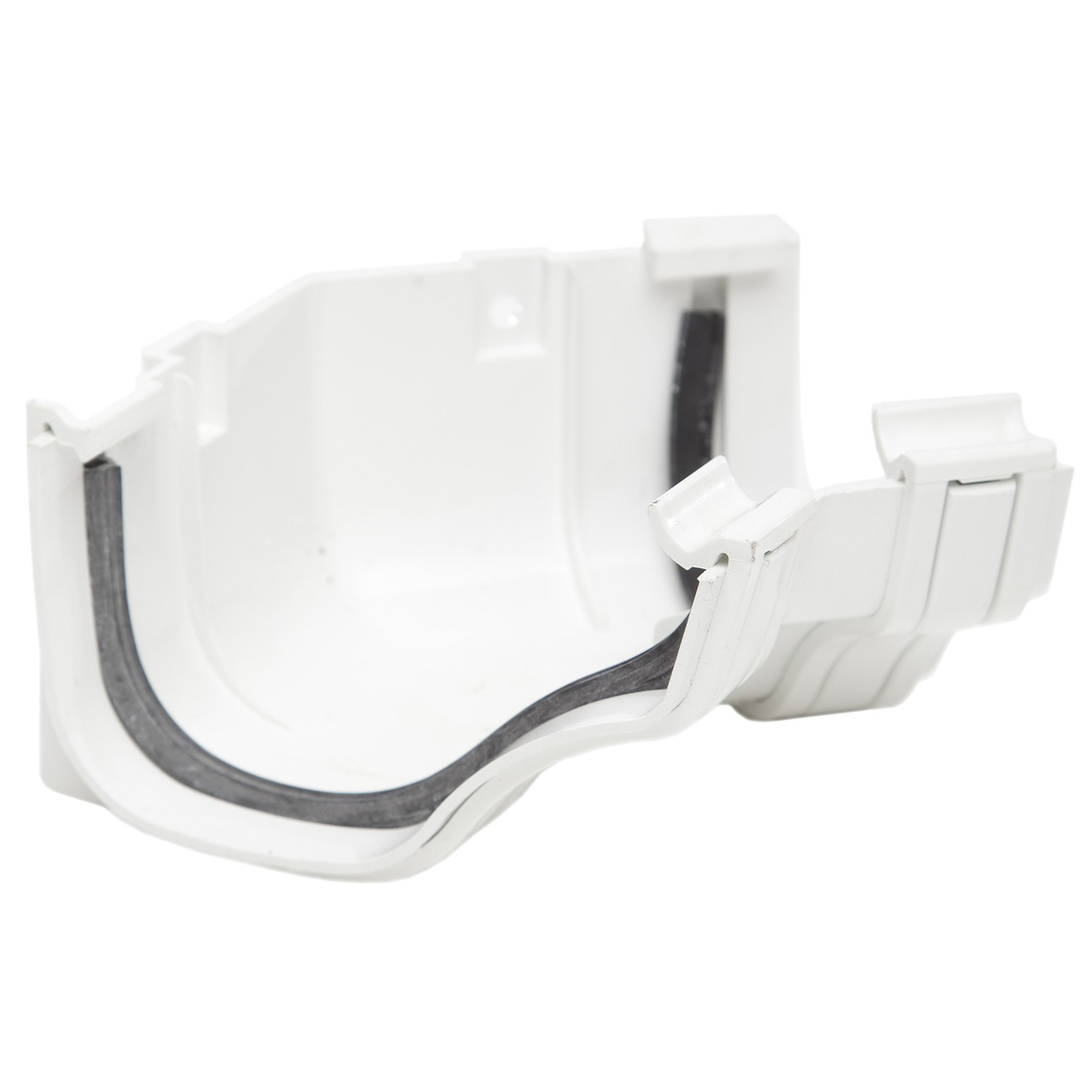Rog14w Polypipe 130mm Ogee Extra Capacity Gutter 135