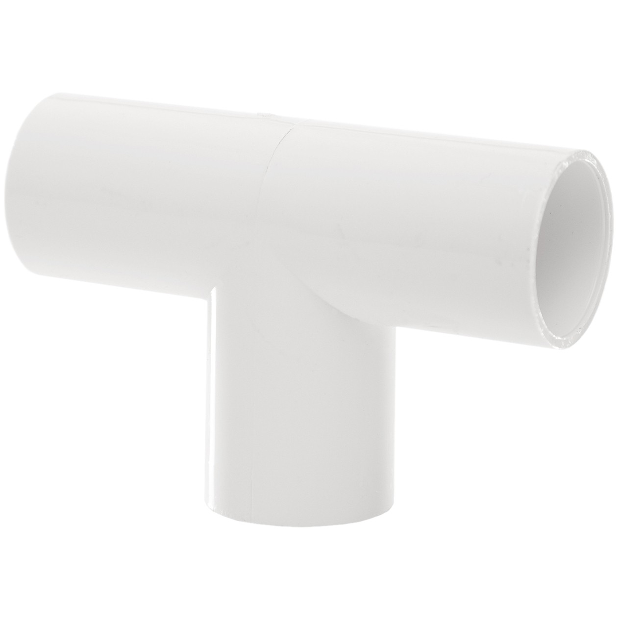 Polypipe 21.5mm Solvent Weld Overflow 90 Degree Tee - White