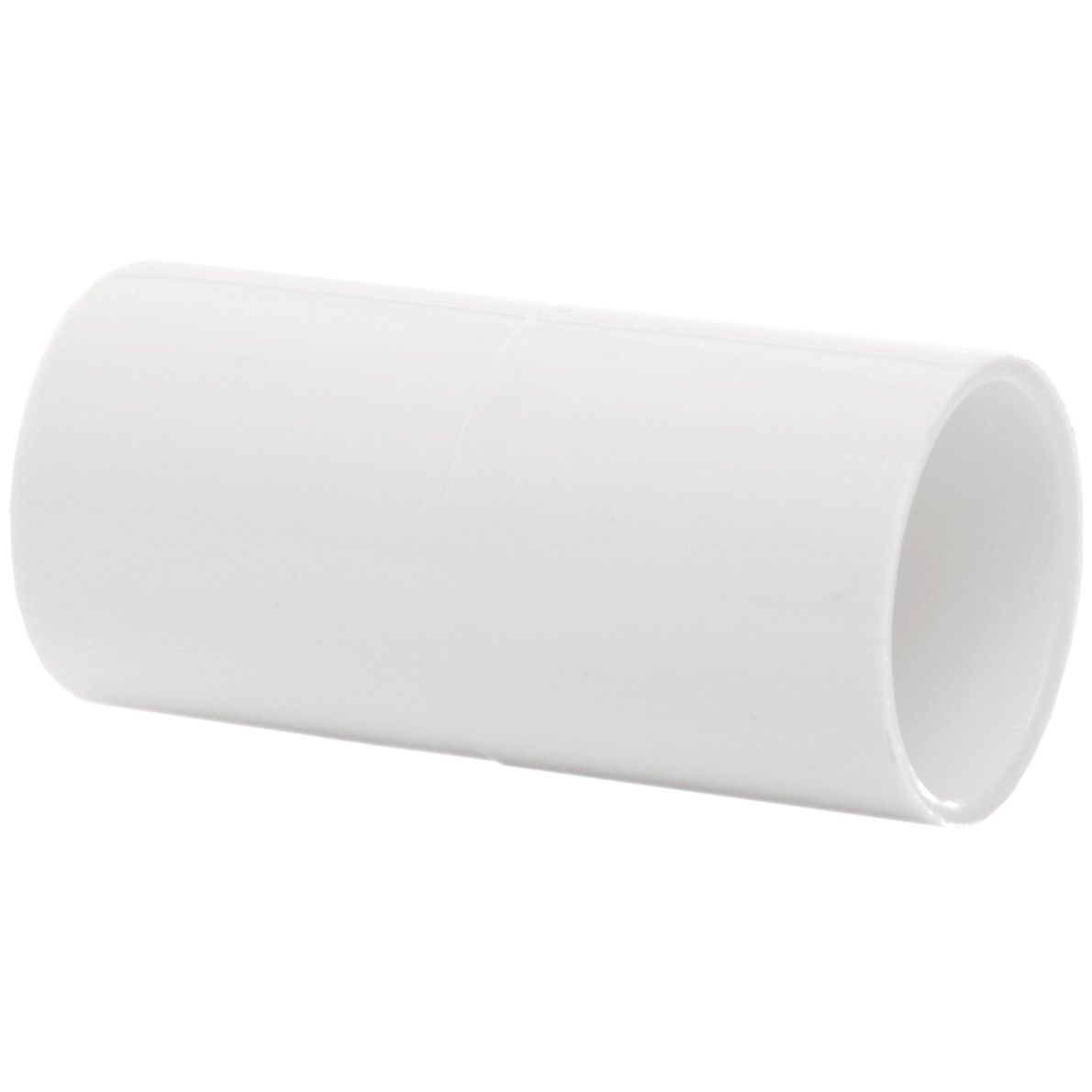 Polypipe 21.5mm Solvent Weld Overflow Connector - White