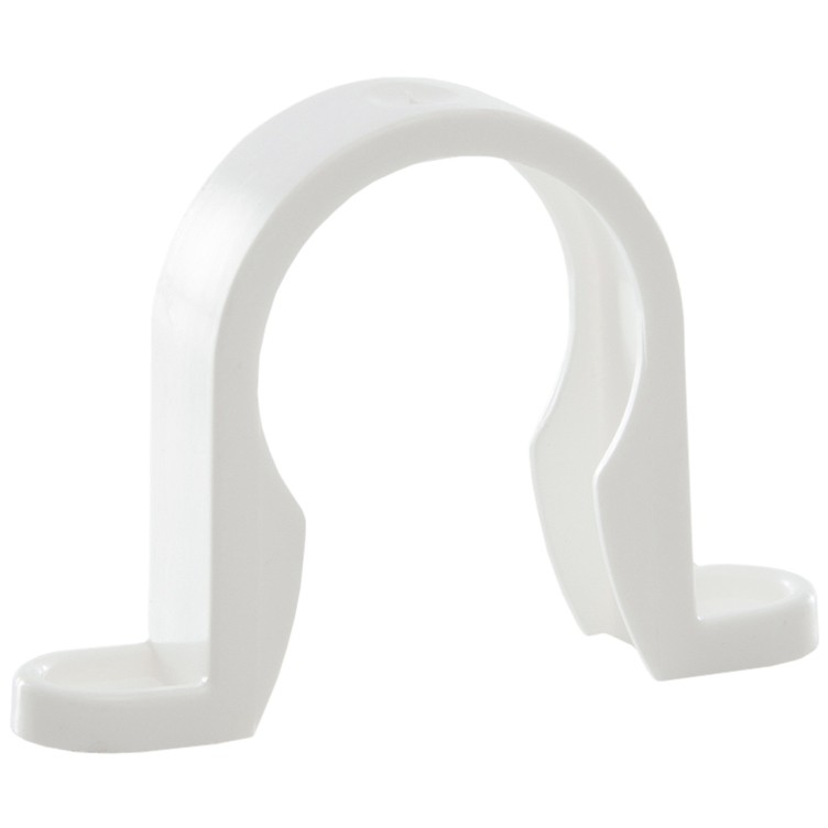 Polypipe 32mm Push Fit Waste Pipe Clip - White